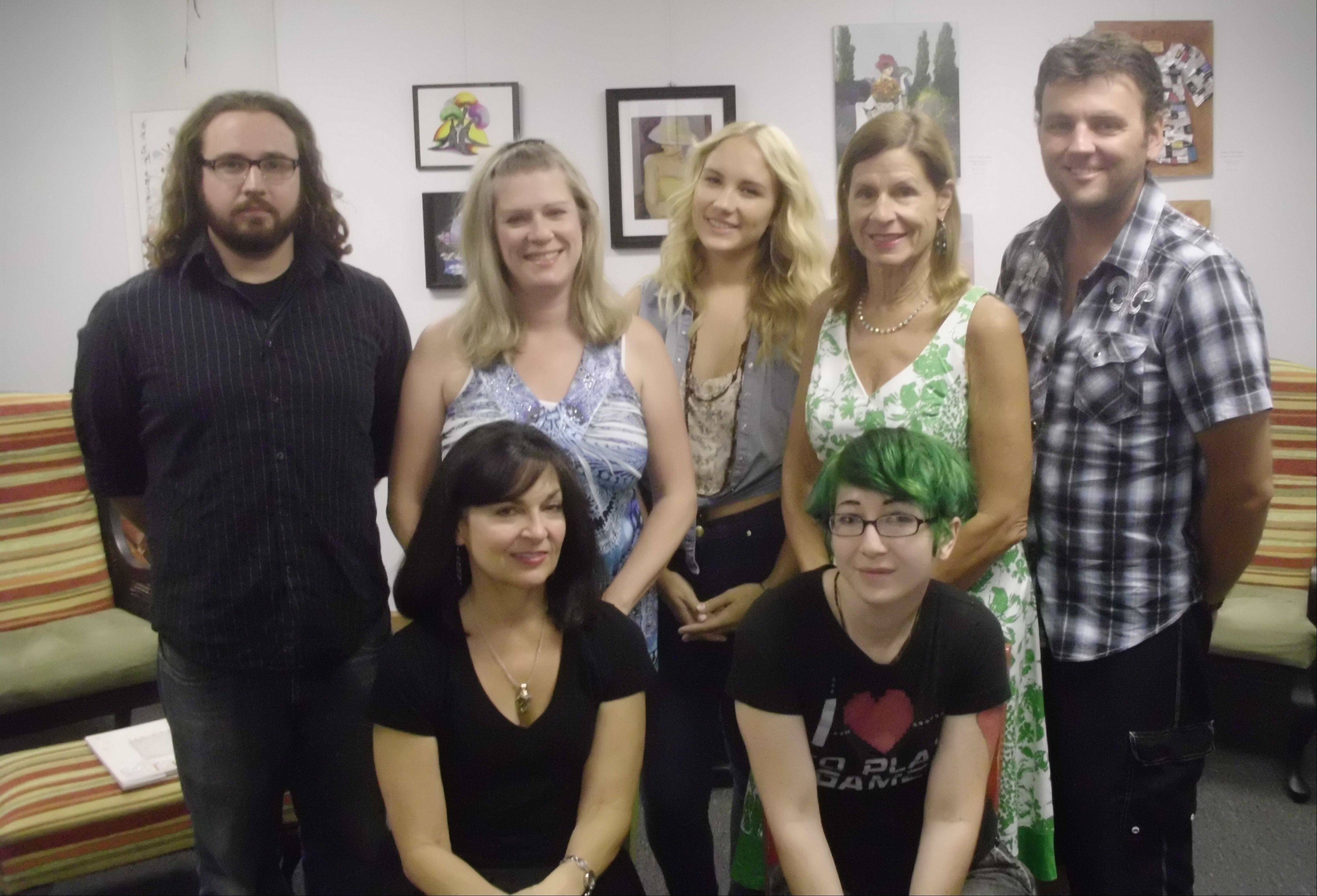 "The ""AutoSave"" cast, from left, are: Tony Pellegrino, Donna Latham, Debra Fowler, Niykee Heaton, Rita Lopienski, Marrisa Langlais and Scott Surowiecki. Not pictured are Russ Devereaux, Chris Binetti, and Galen Malick."