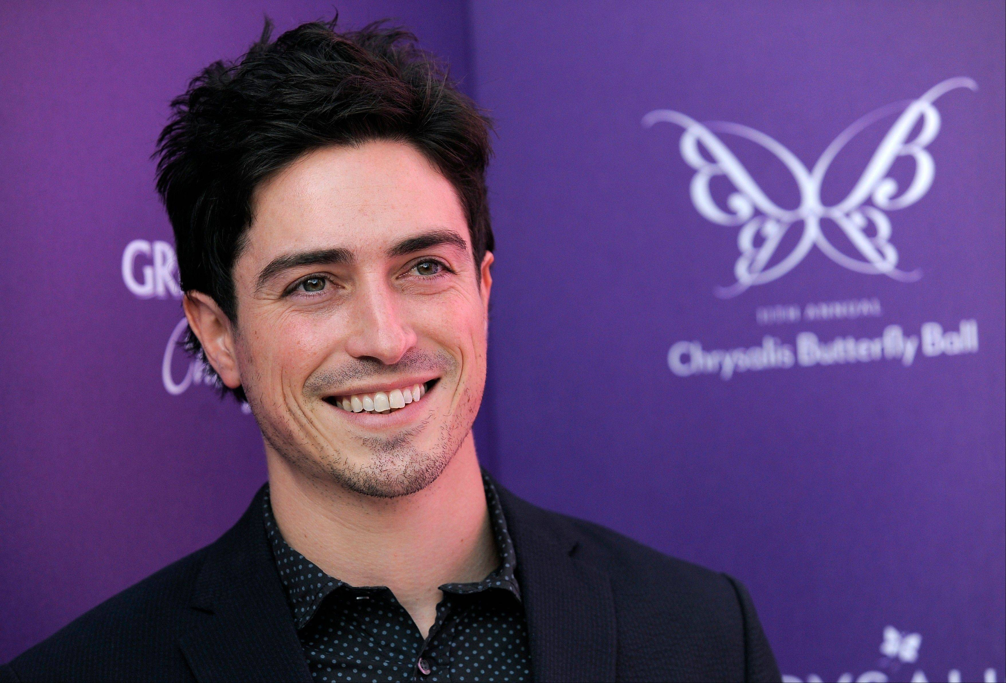 "In this June 9, 2012 file photo, actor Ben Feldman poses at the 11th Annual Chrysalis Butterfly Ball in Los Angeles. Feldman is nominated for a 2012 Emmy Award for his guest-starring role on ""Mad Men."""