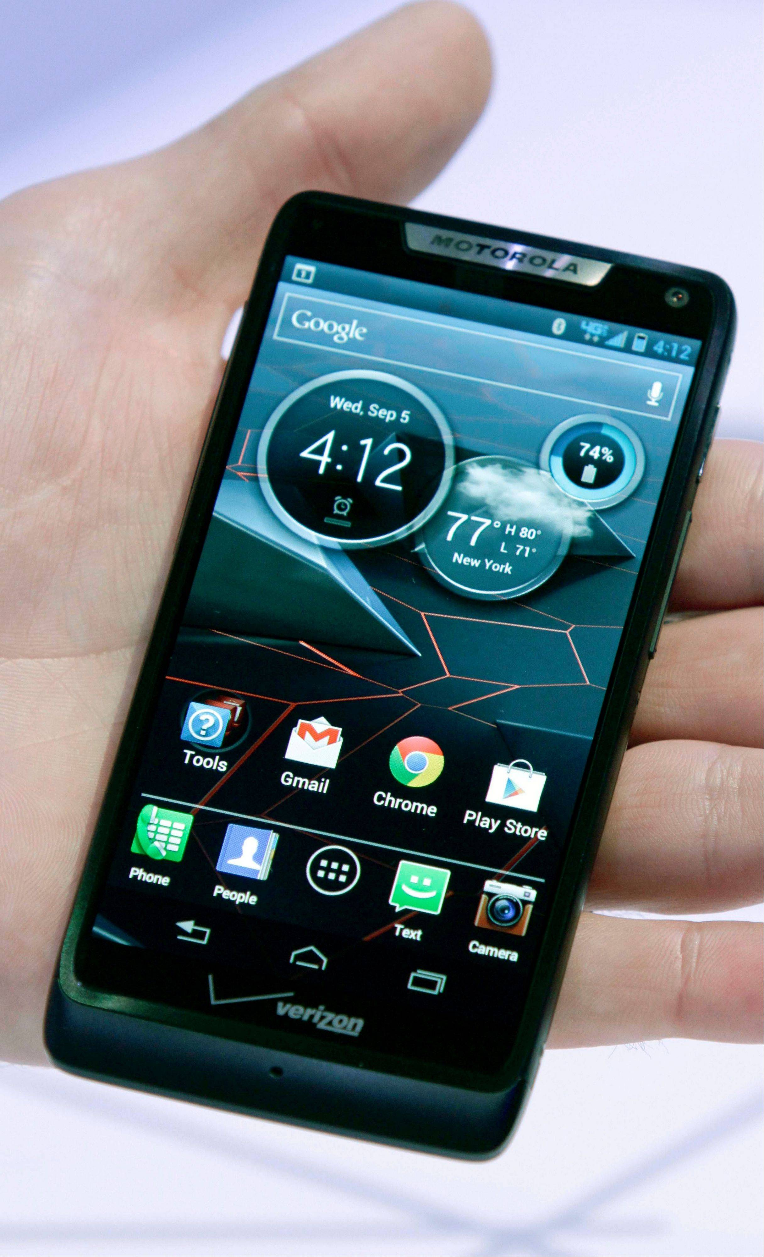 The new Droid Razr M is one of three new smartphones unveiled by Motorola since it became a part of Google.