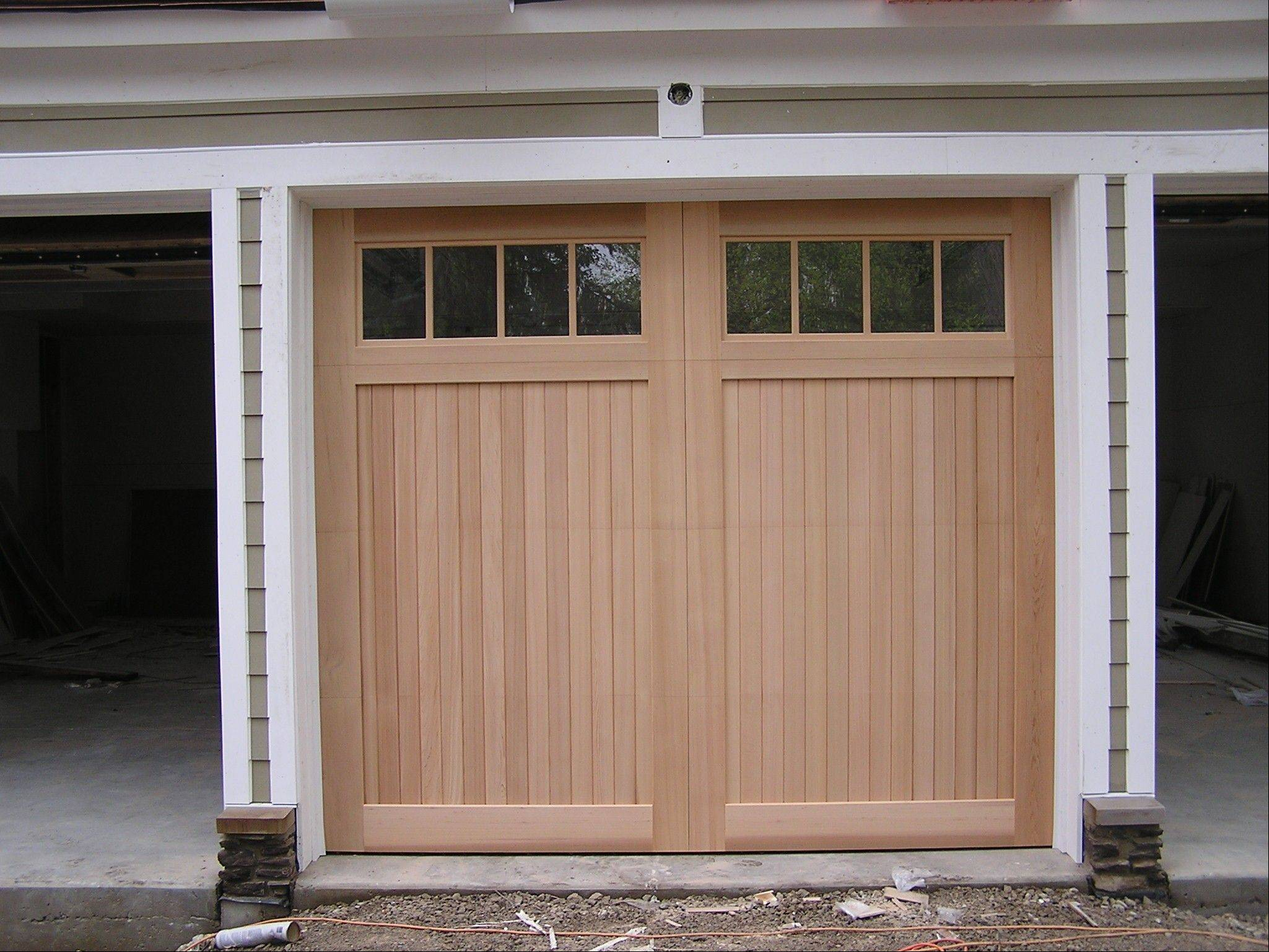 Buckeridge Doors makes its custom doors in Arlington Heights.