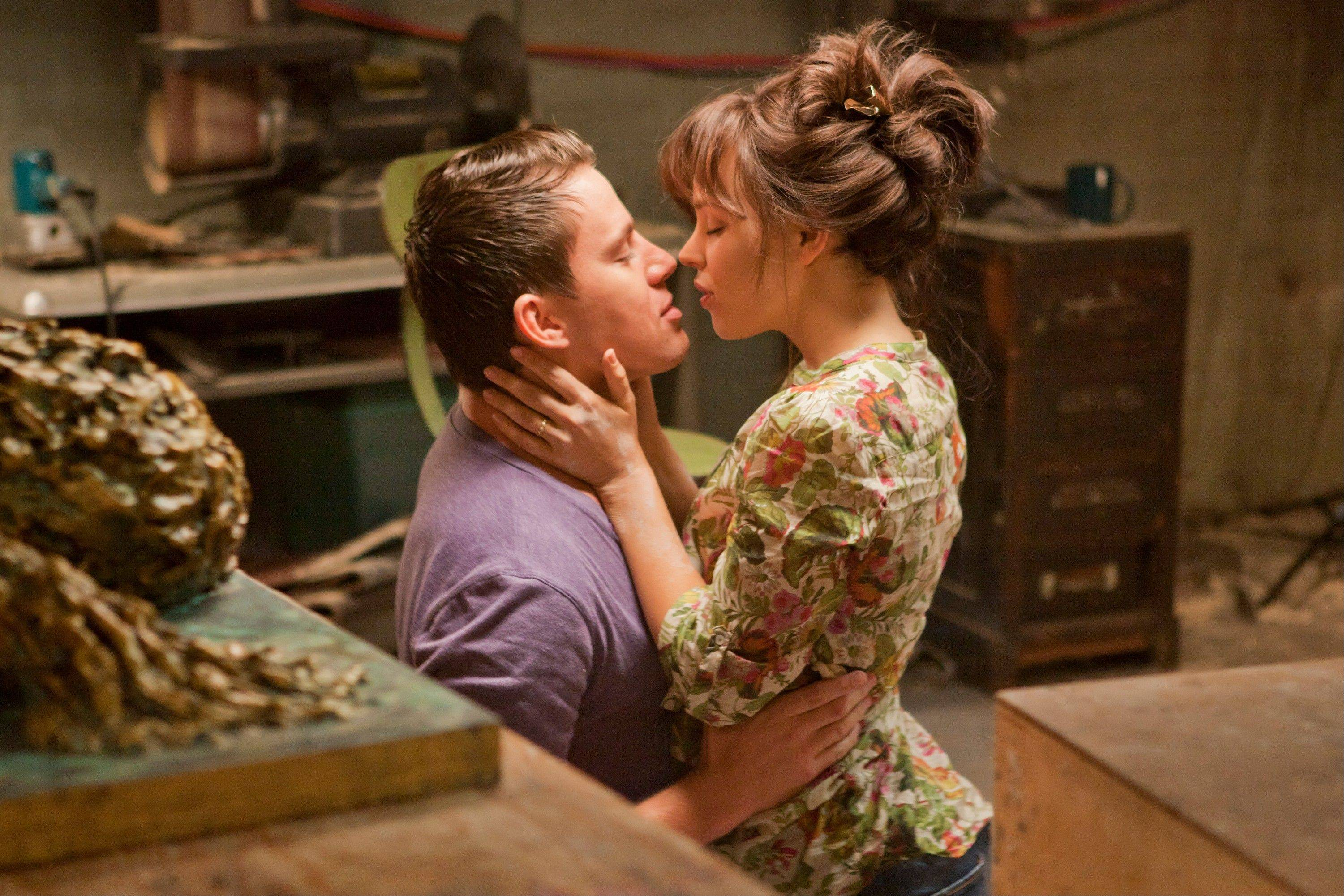 In this file photo released by Columbia Pictures, Rachel McAdams, left, and Channing Tatum are shown in a scene from �The Vow.�