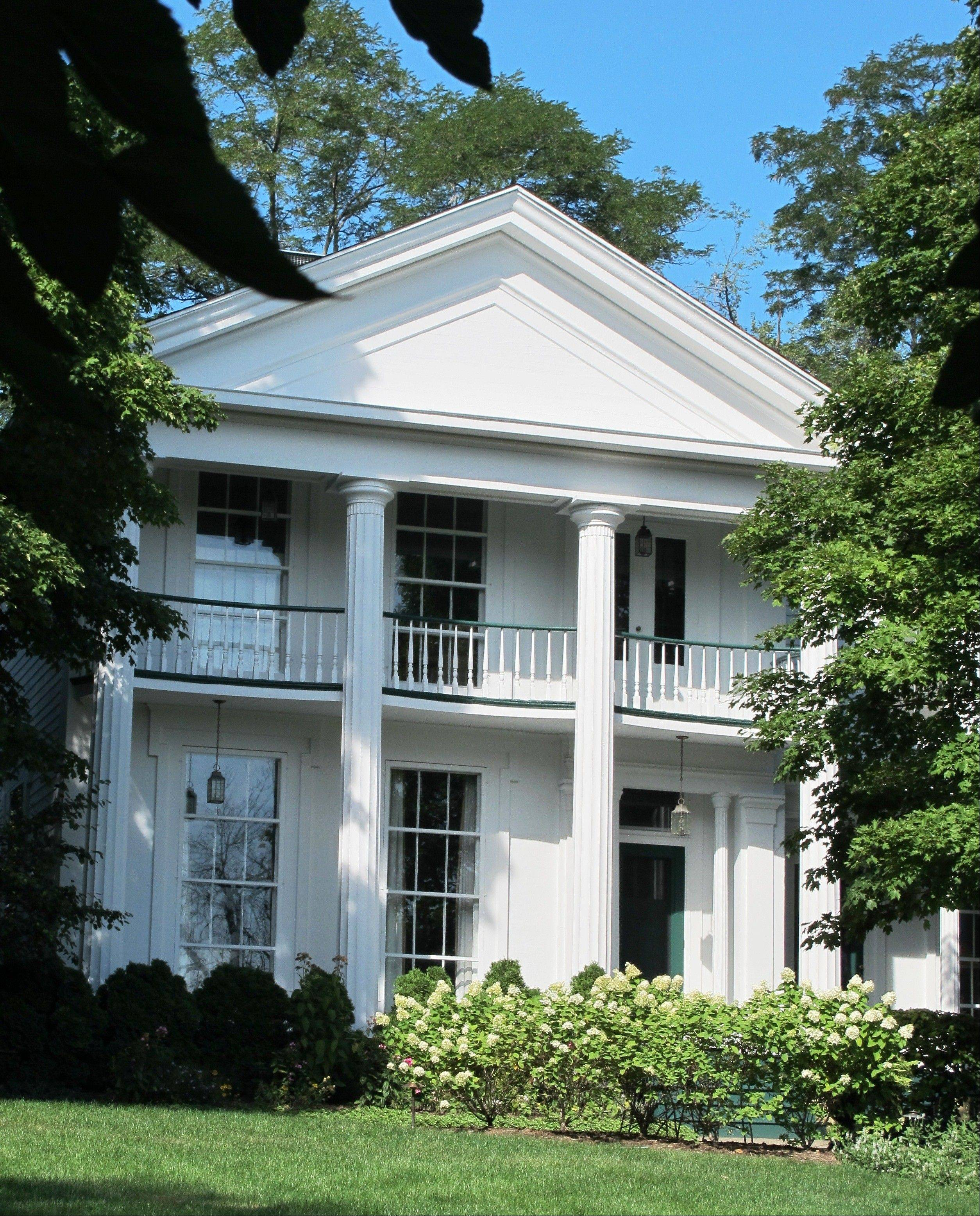 This 1859 Greek Revival home was once owned by James Lewis, an early mayor of St. Charles.