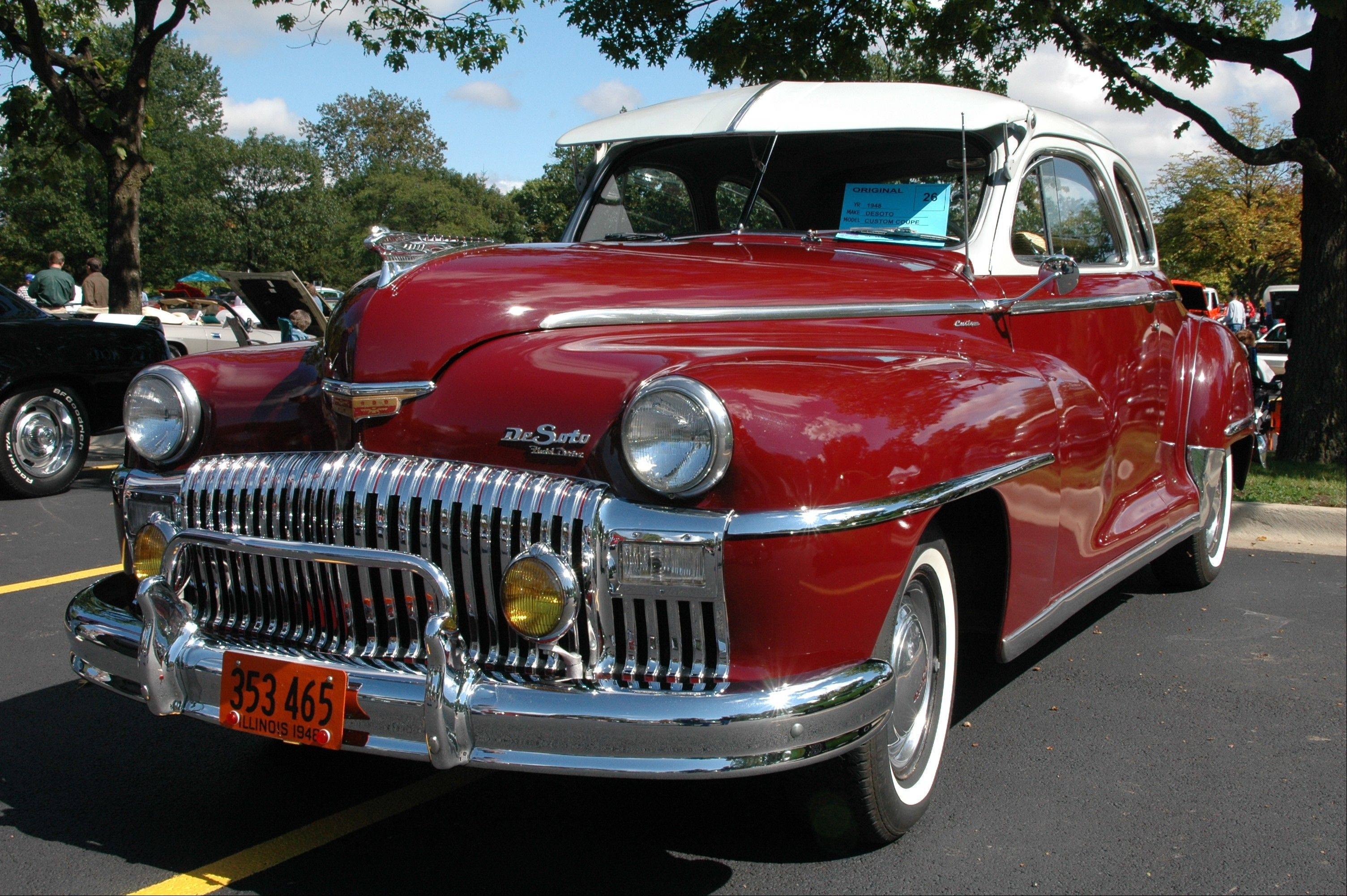 Car exhibitors compete for more than 90 awards at the Seventh Annual Cantigny Car Show at Cantigny Park in Wheaton.