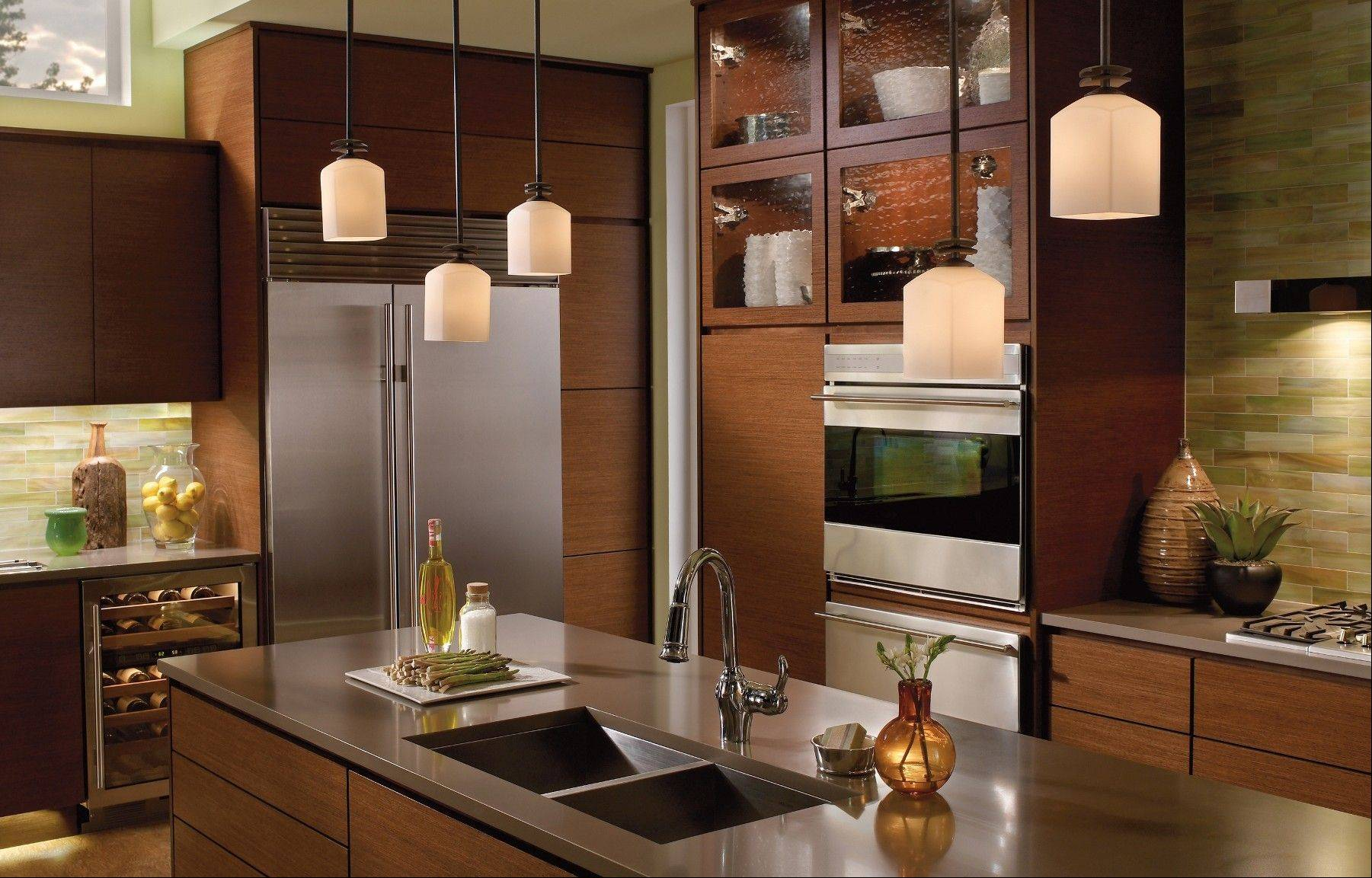 Modernize your lighting to give your rooms an easy makeover.