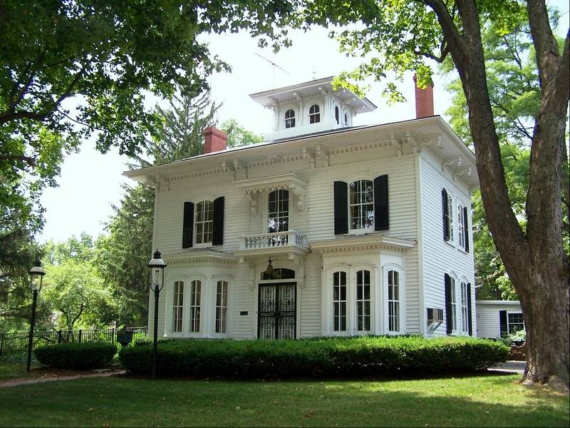 Tri cities house tour to feature greek revival italianate for Italianate victorian house plans