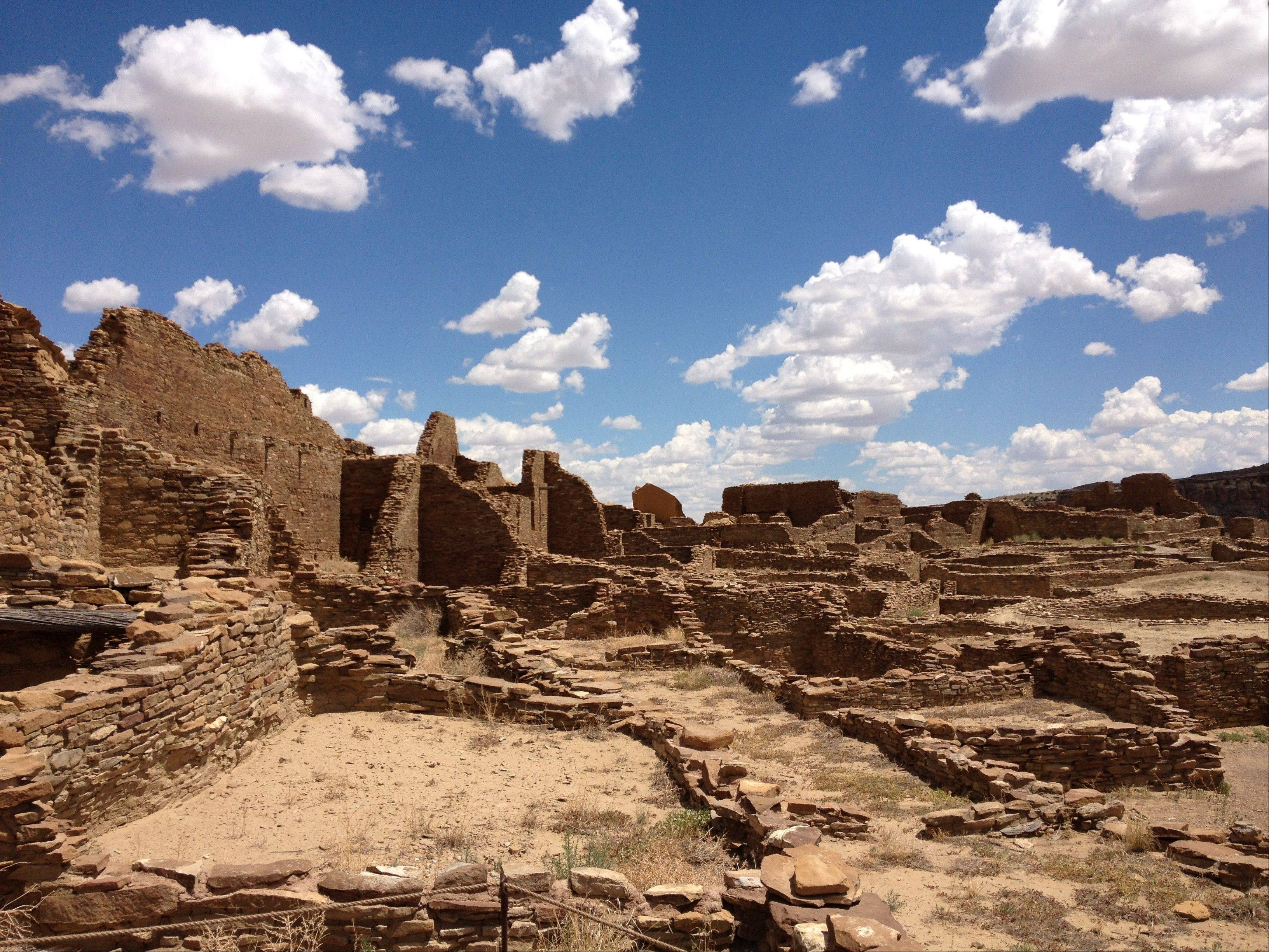 Chaco Canyon, in northwestern New Mexico, is the center of a culture that flourished from the 800s to the 1100s.