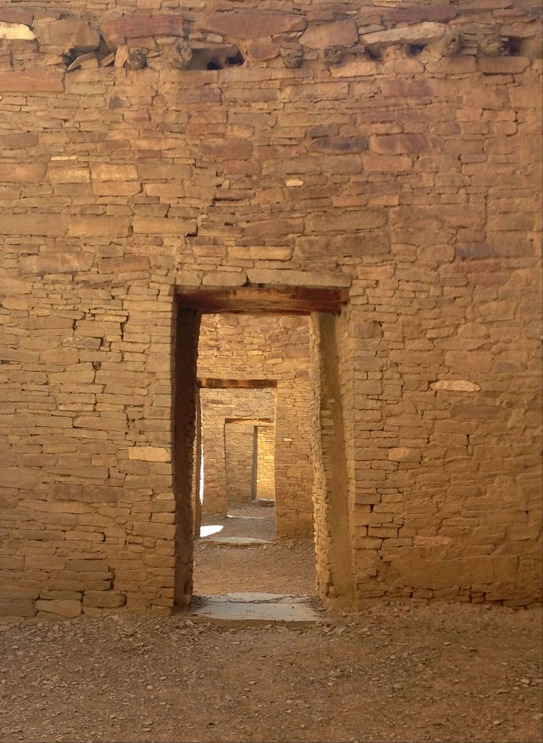 A visit to Pueblo Bonito in Chaco Canyon provides a glimpse into the way the original habitants lived.