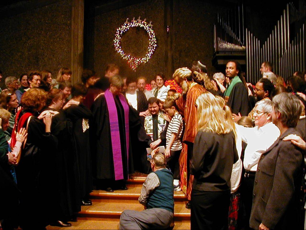 One of the monumental events in the life of Rev. Sean Parker Dennison took place 12 years ago, when he was ordained as a Unitarian Universalist minister.