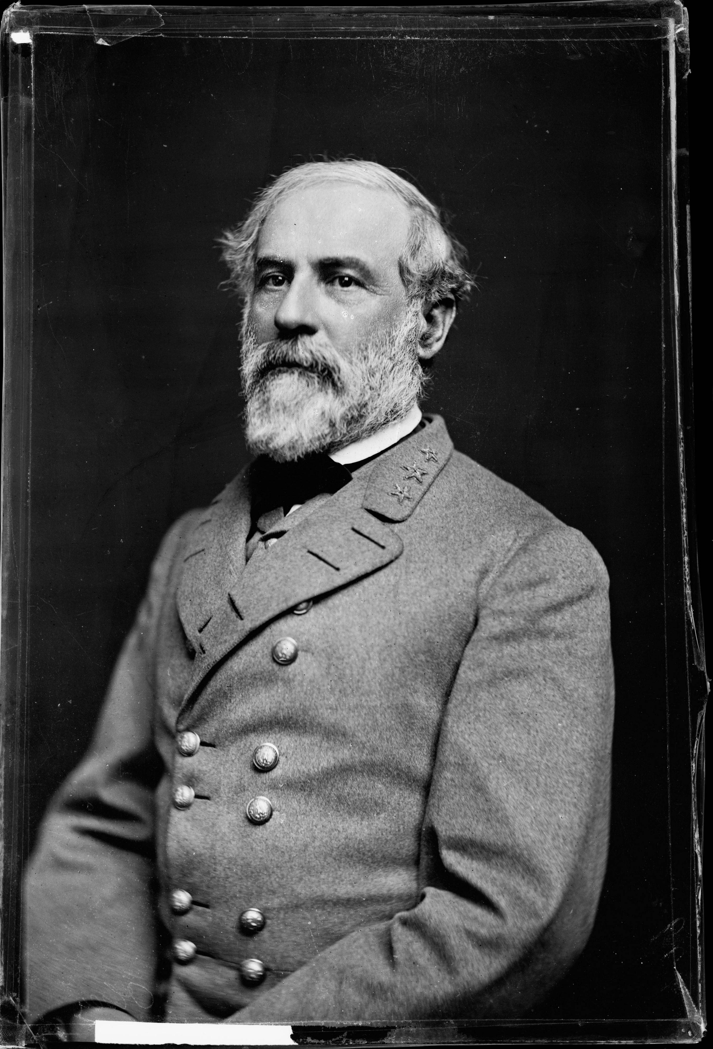 This 1864 photo made available by the Library of Congress shows Confederate Army Gen. Robert E. Lee. When dawn broke along Antietam Creek on Sept. 17, 1862, cannon volleys launched a Civil War battle that would leave 23,000 casualties on the single bloodiest day in U.S. history and mark a crucial pivot point in the war.