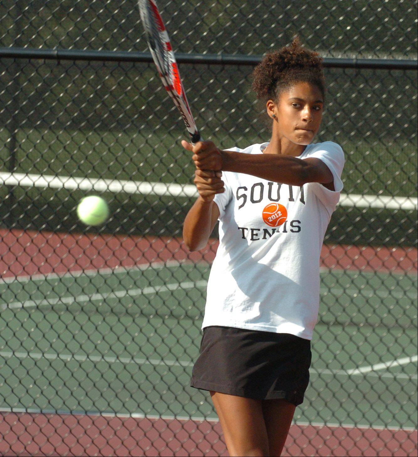 WW South junior Keisha Clousing is mixing a USTA tournament schedule with her high school schedule.