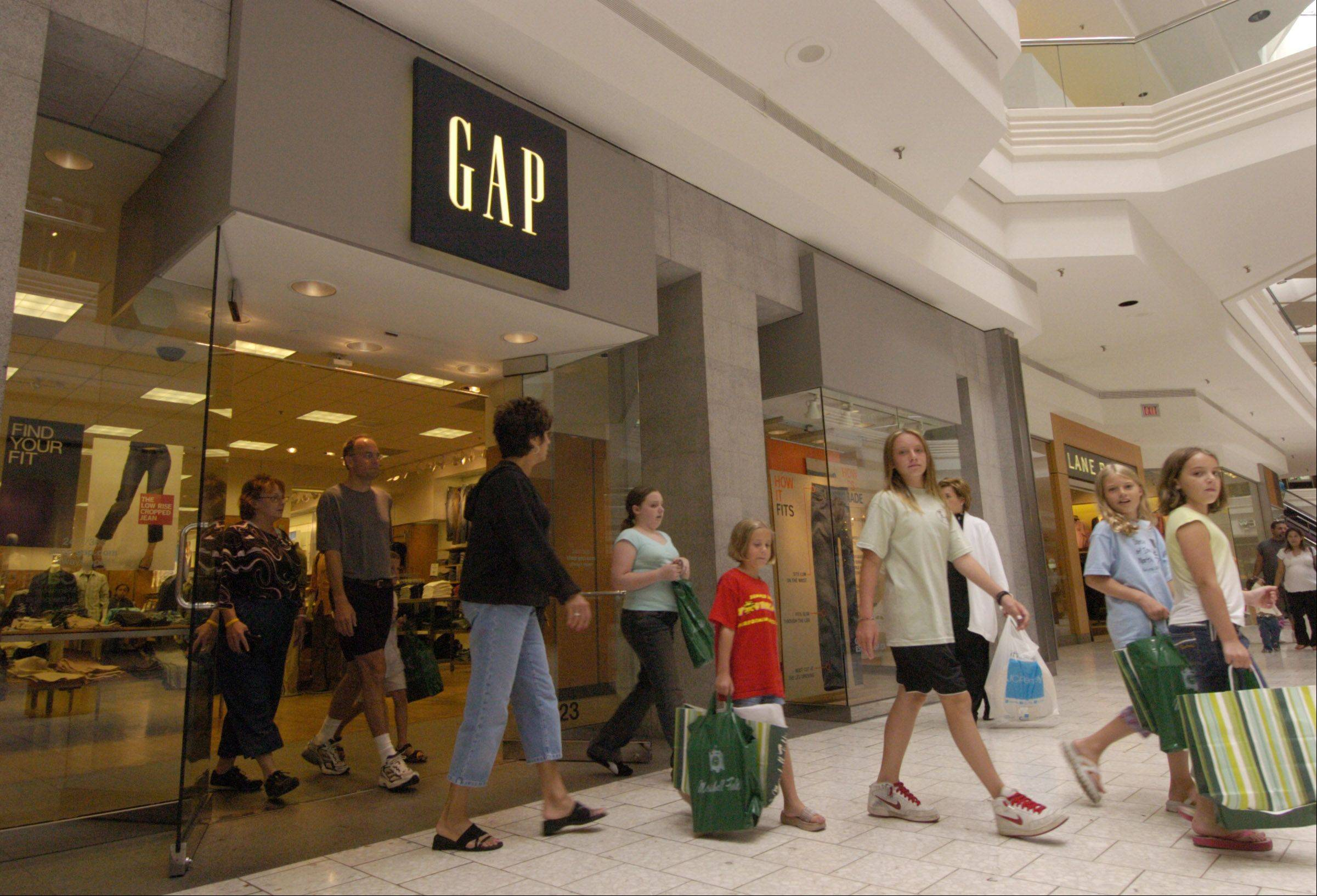 Gap Inc. also operates stores under Old Navy, Banana Republic as well as under Piperlime.