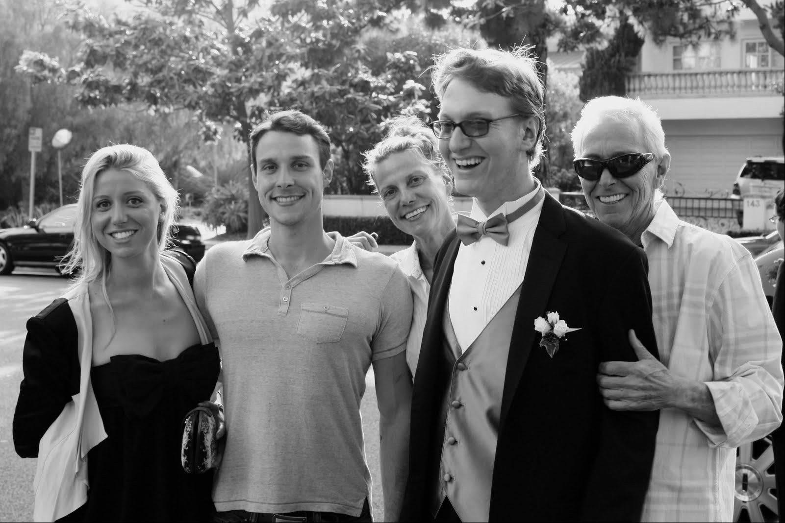 Film director Jim Abrahams and his wife, Nancy, at right, started The Charlie Foundation to Cure Pediatric Epilepsy nearly 20 years ago when their son Charlie, in foreground, suffered from the illness. Their children Jamie and Joseph also are pictured. The foundation will sponsor a fundraiser Friday in Bloomingdale featuring actress Meryl Streep and comedian Jeff Garlin.