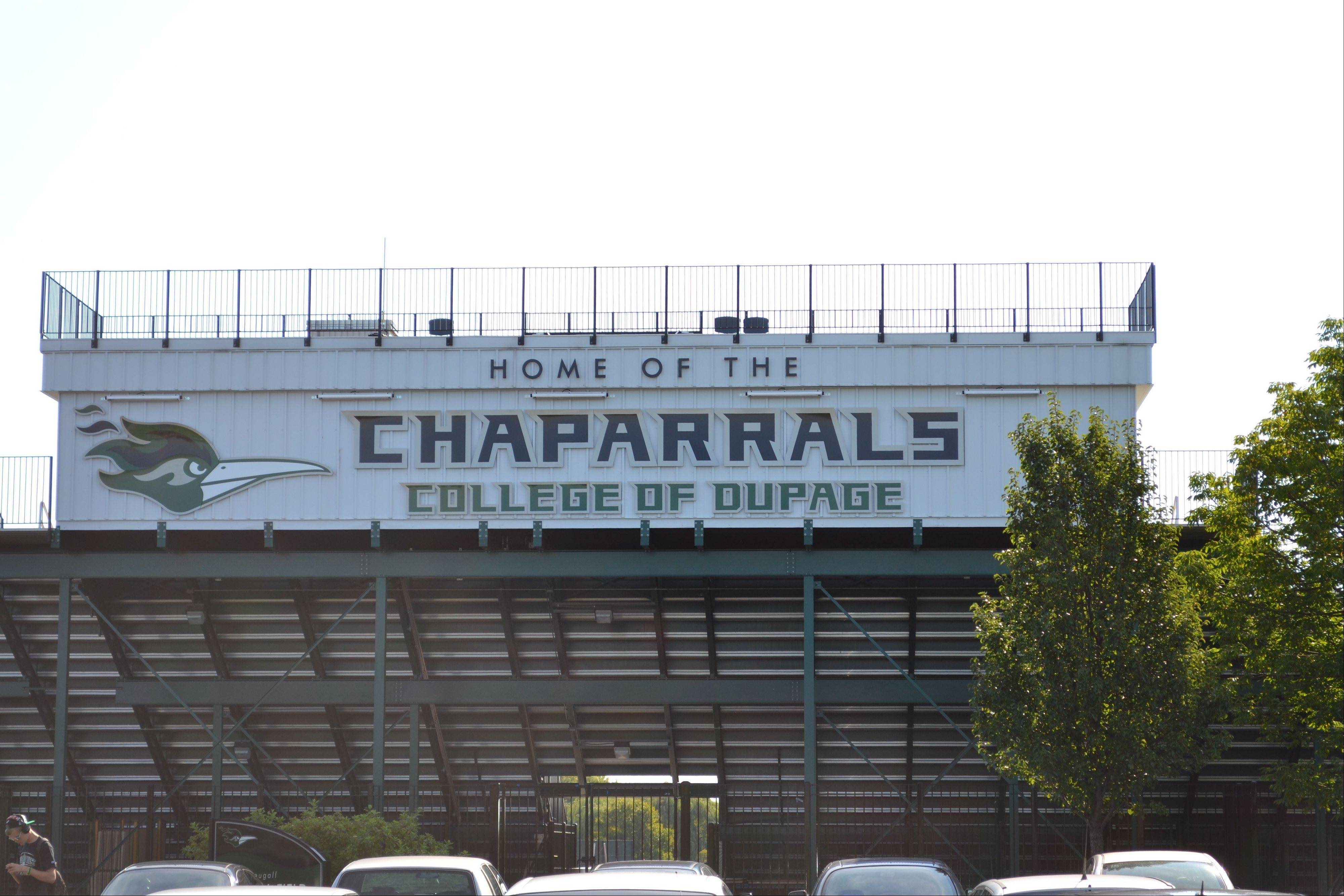College of DuPage began branding and marketing the chaparral logo a few years ago at places such as the football stadium. Now, the college is getting an 8-foot statue of a chaparral to continue that effort.