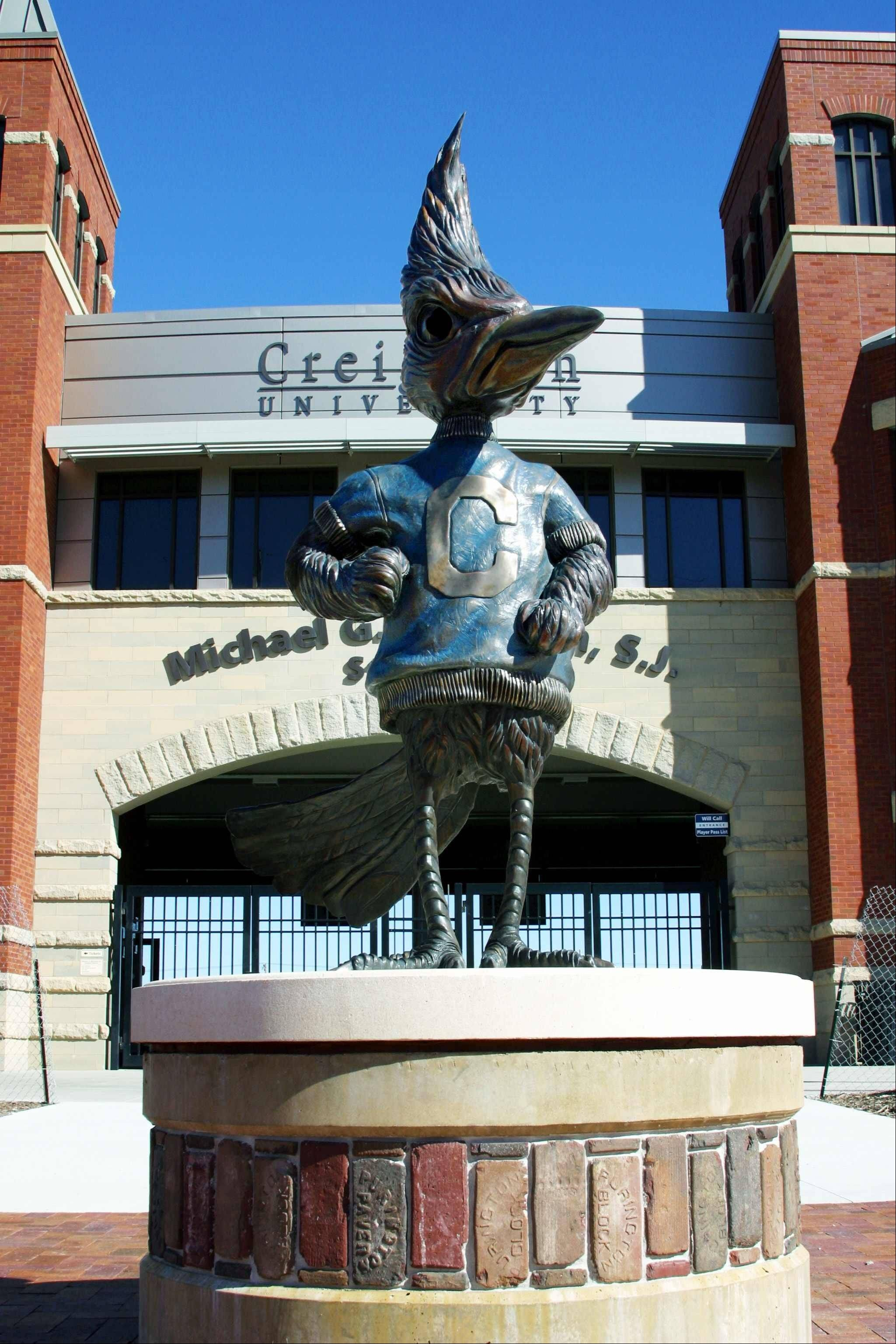 Artist Matthew Placzek has created sculptures of sports team mascots for colleges nationwide, including Billy Bluejay at Creighton University in Omaha. Placzek sent a postcard of that sculpture to College of DuPage President Robert Breuder, who was so impressed with Placzek's work that he's asked him to create a sculpture of COD's mascot, the chaparral.