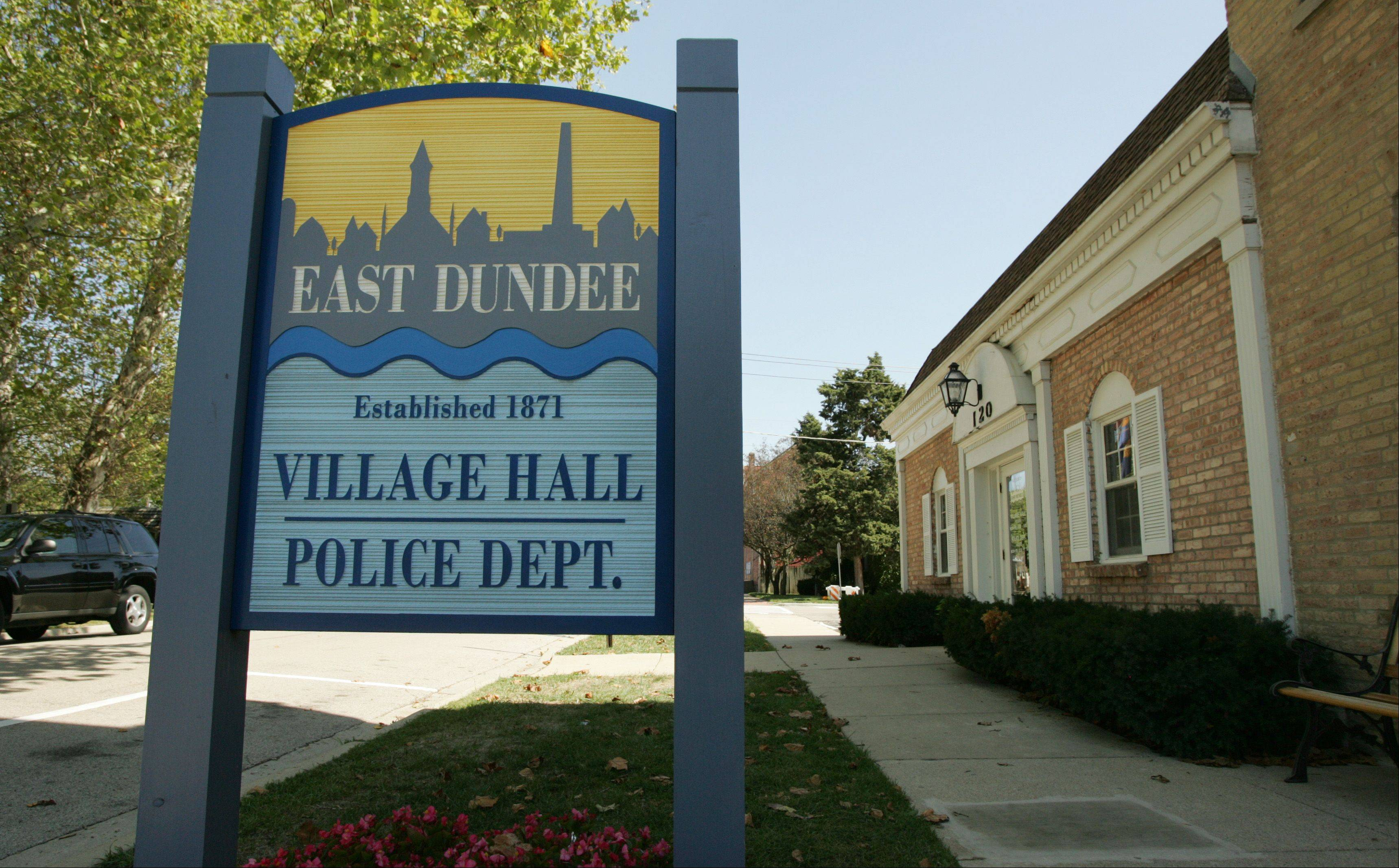 East Dundee's village hall, police station and fire department are all squeezed onto the same block downtown. If the fire district wins voter approval to build a new fire station farther east, the village would contribute to its construction and then revamp the space into a more modern and spacious police station and village hall.