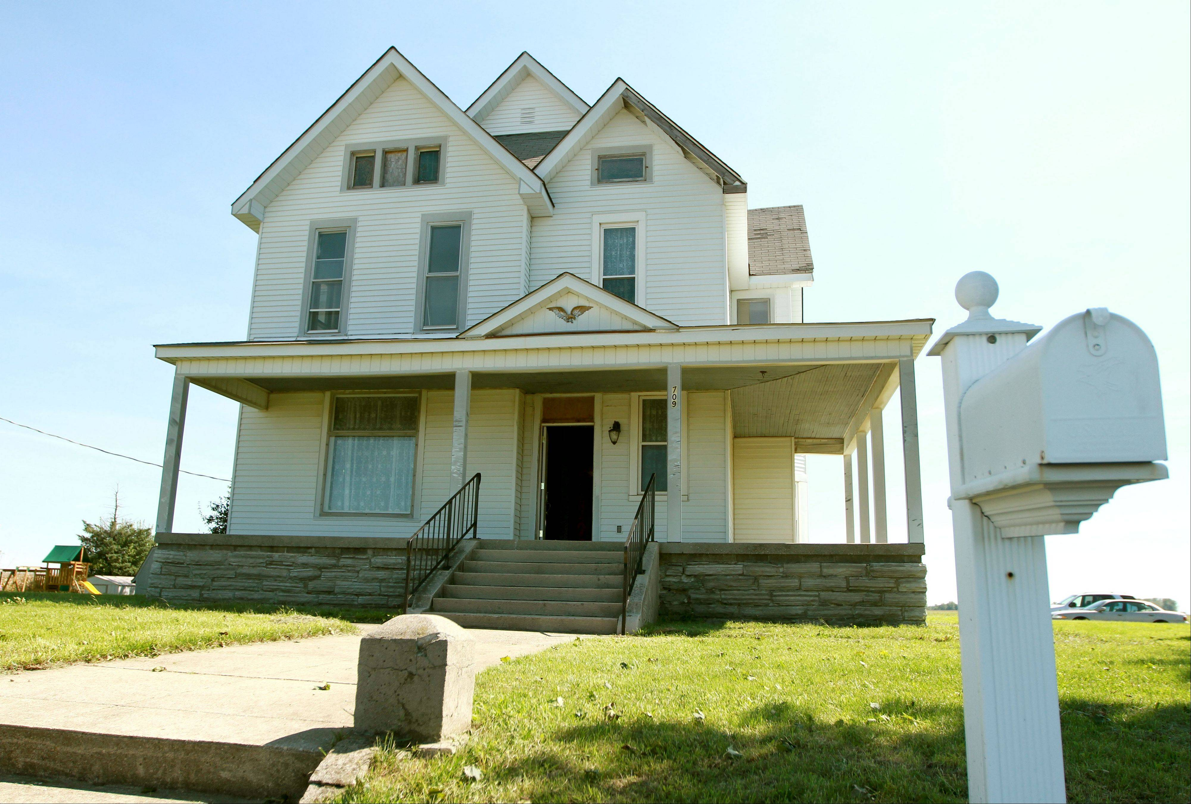 The Dunham house in Kempton, Ind., is the subject of a documentary film project about President Barack Obama's ancestral roots in Indiana.