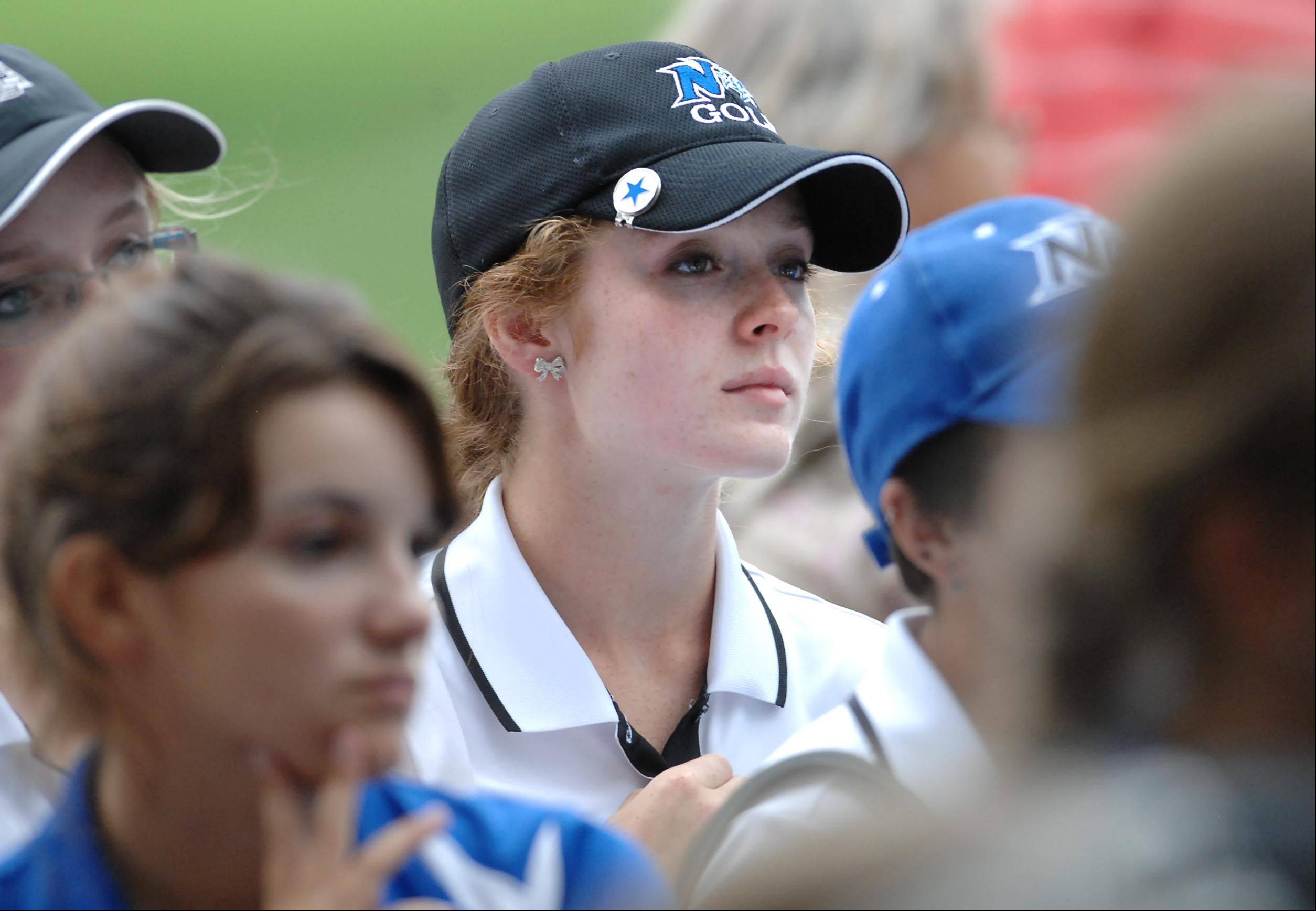 Jessica Grill placed second with a score of 39 Monday at the Elgin Country Club girls golf invitational.