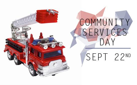 Community Services Day Sept 22nd