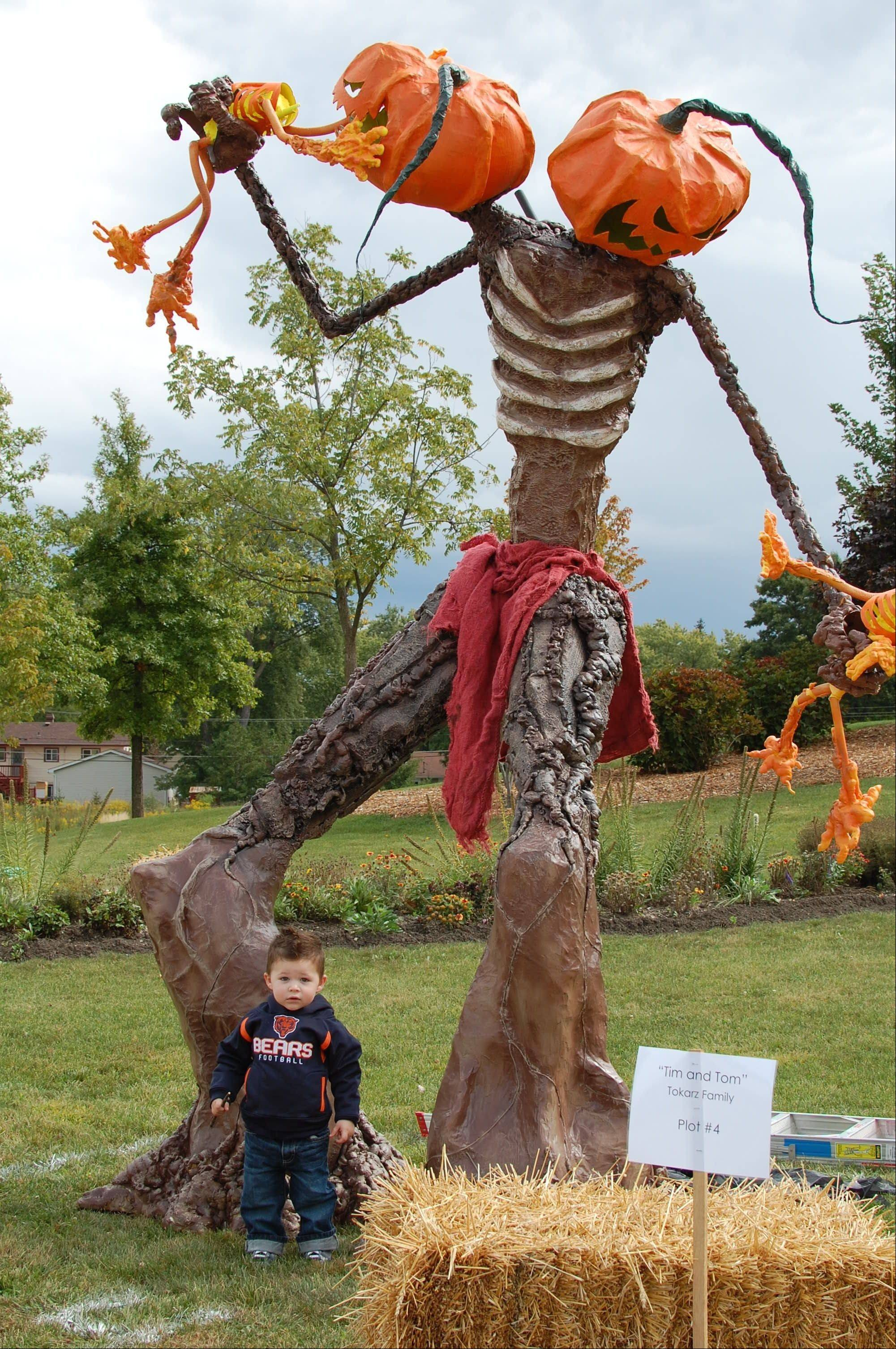 Scarecrows of all shapes and sizes will be on display from noon-3 p.m. Saturday, Sept. 22, during the fifth annual Scarecrow Festival at Vogelei Park in Hoffman Estates.