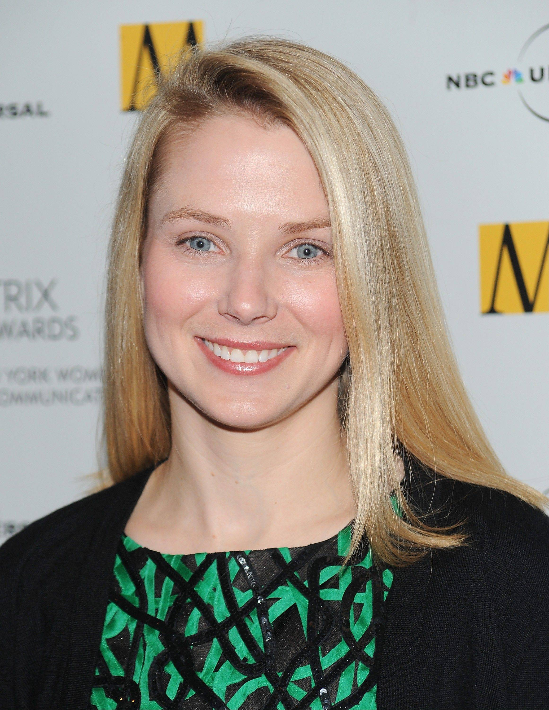 Marissa Mayer, Google vice president of search products and user experience, attends the 2010 Matrix Awards presented by the New York Women in Communications in New York. Yahoo on Tuesday announced closing a $7.6 billion deal that includes selling half its stake in rapidly growing Chinese company Alibaba Group.