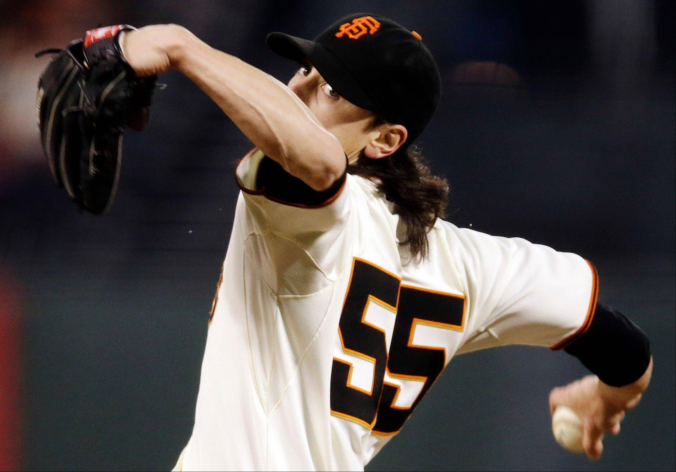 San Francisco starting pitcher Tim Lincecum improved to just 4-8 with a 3.67 ERA at home this season, but he sure looked like his old stellar self Tuesday against Colorado.