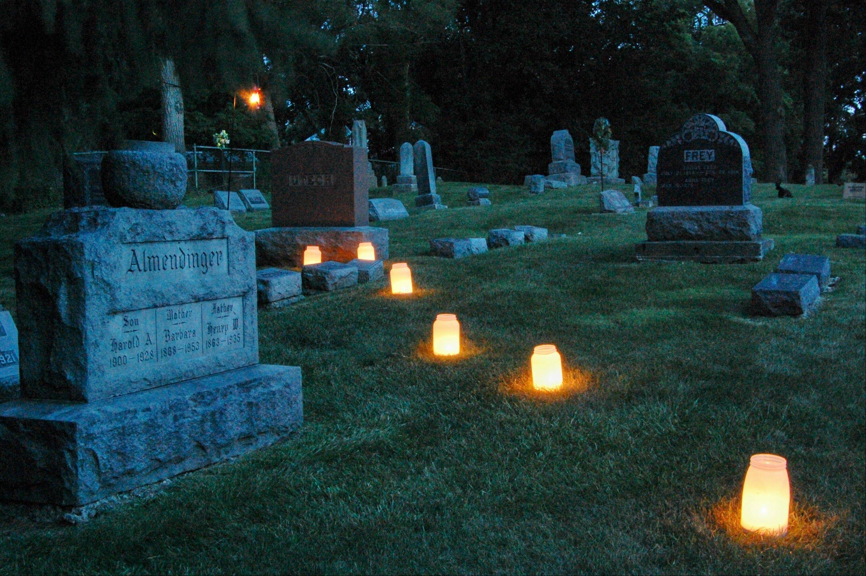 Take part in an Oakwood Cemetery Walk on Saturday, Sept. 21.