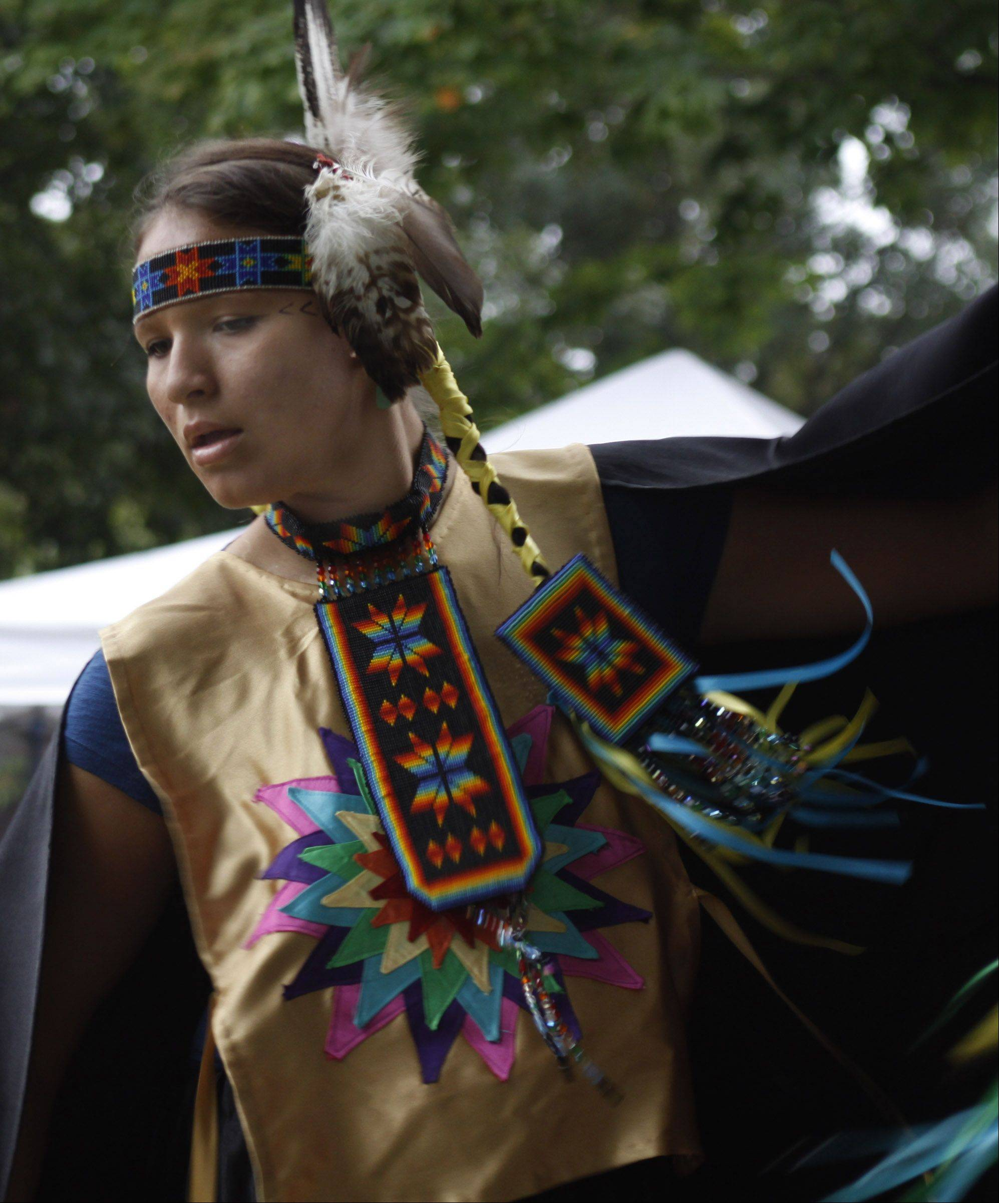 People of Native American heritage travel from around the country to the Harvest Pow Wow at Naper Settlement to carry forward and share the traditions of their tribes.