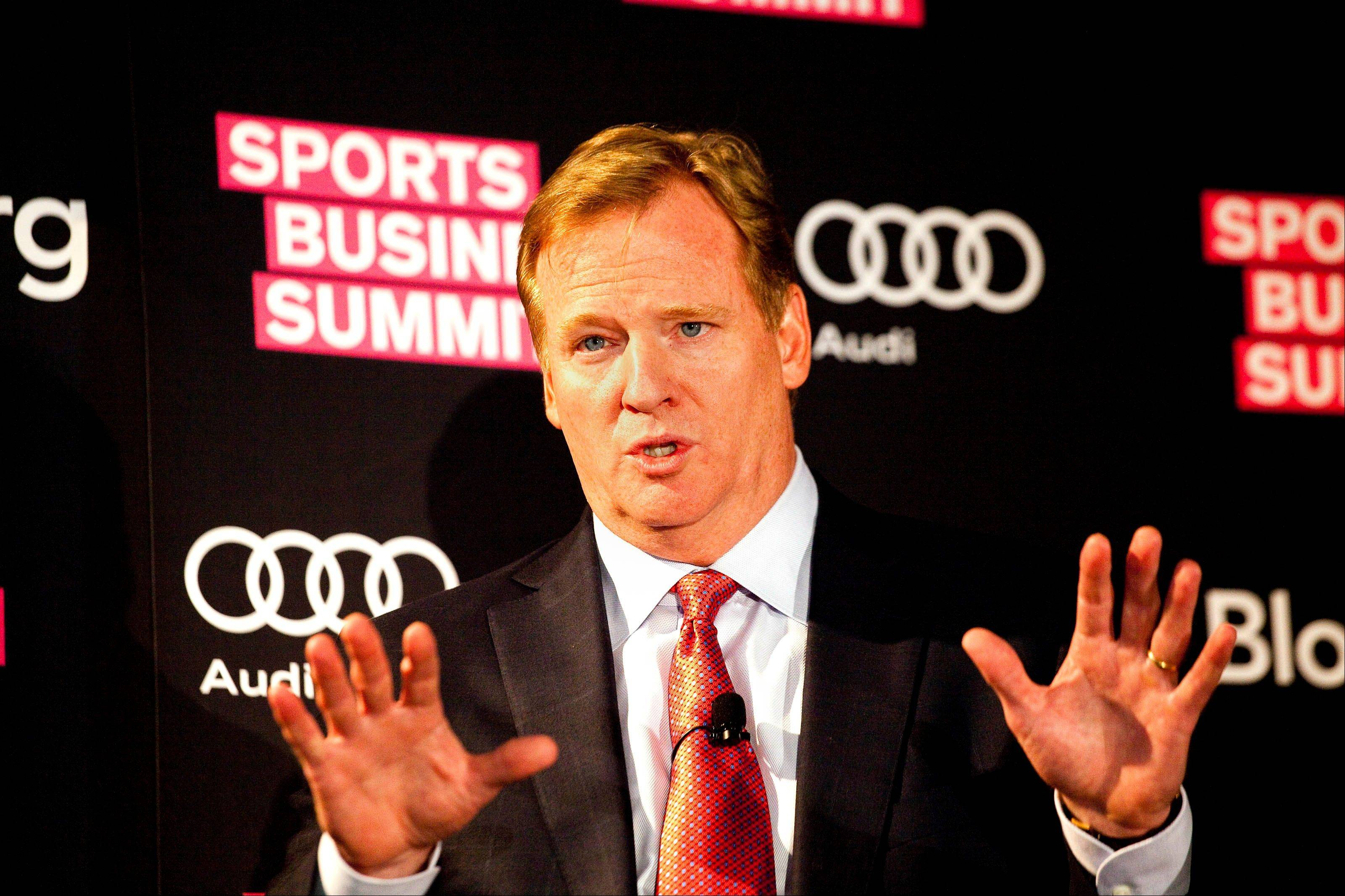 Roger Goodell, commissioner of the National Football League, has two major issues on his plate: reopening the bounty-gate discussions on his rulings, and settling the contract dispute with NFL referees.