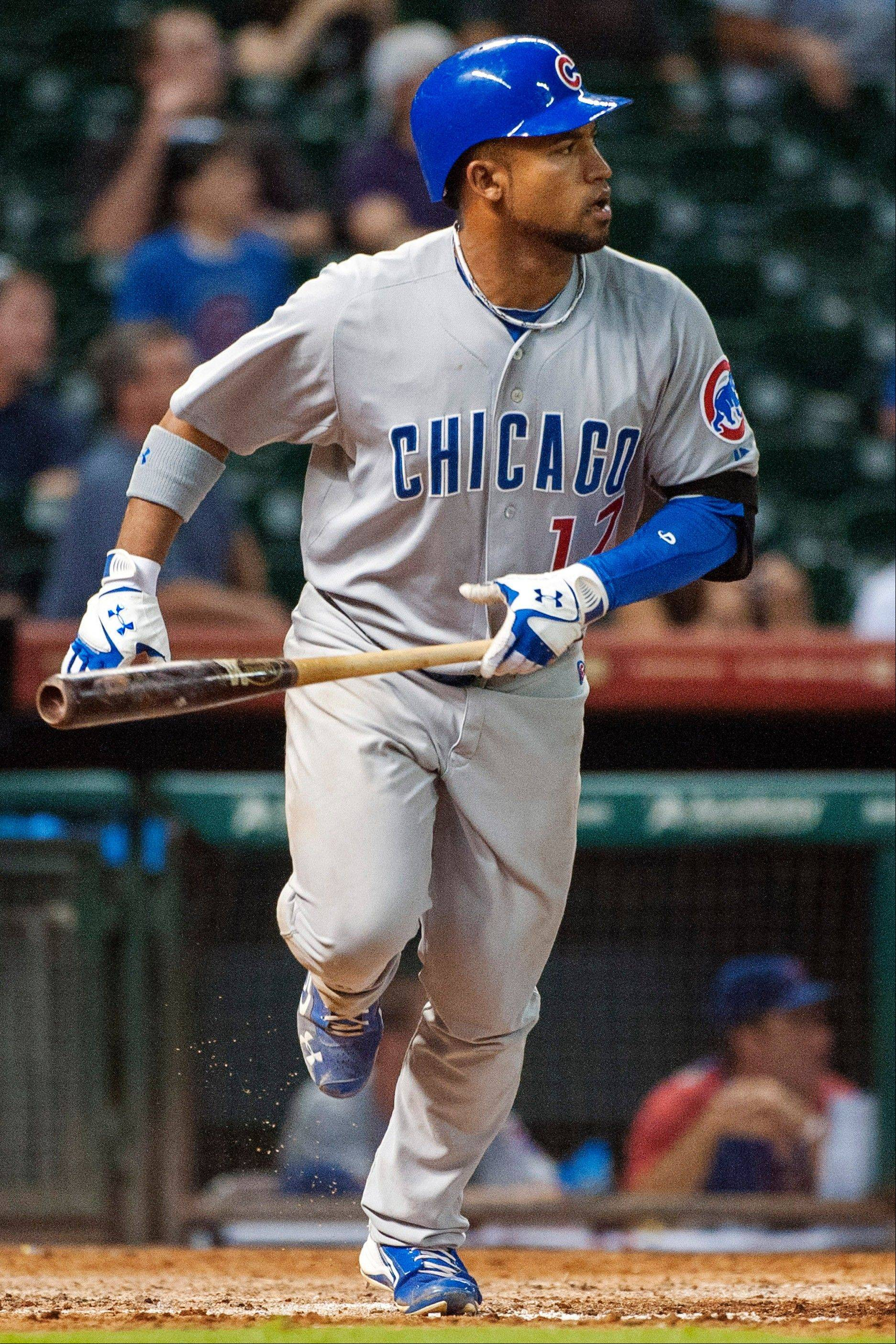 Outfielder Dave Sappelt, who came over to the Cubs in the Sean Marshall trade, has shown signs that he can be a contributor as early as next season.