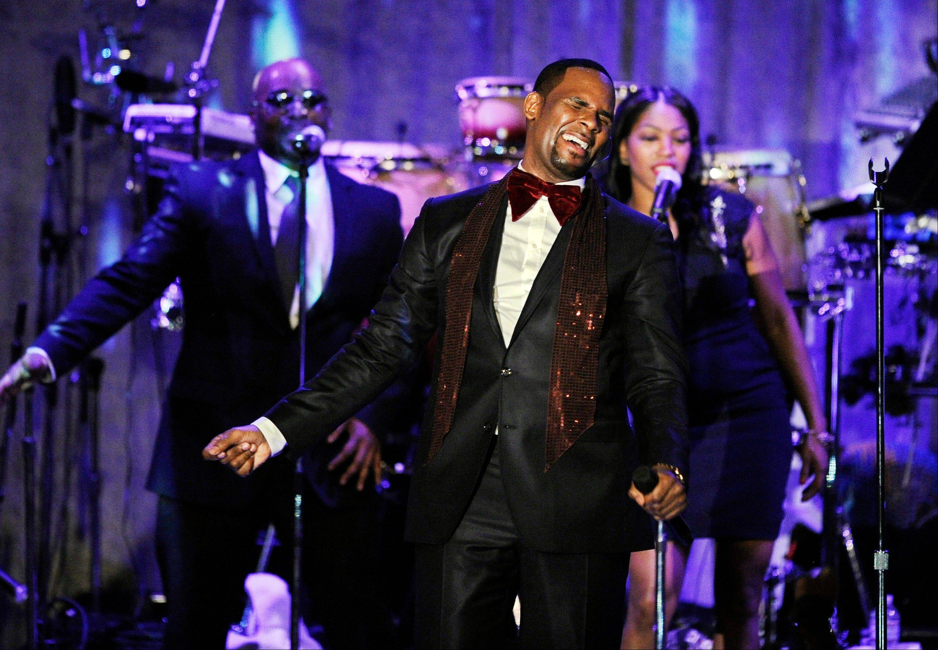 R. Kelly is up for the Ashford & Simpson songwriter's award and album of the year at this year's Soul Train Awards, bringing his career total to 21.