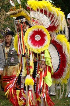 Celebrate Native American culture at the Harvest Pow Wow event at the Naper Settlement in Naperville.