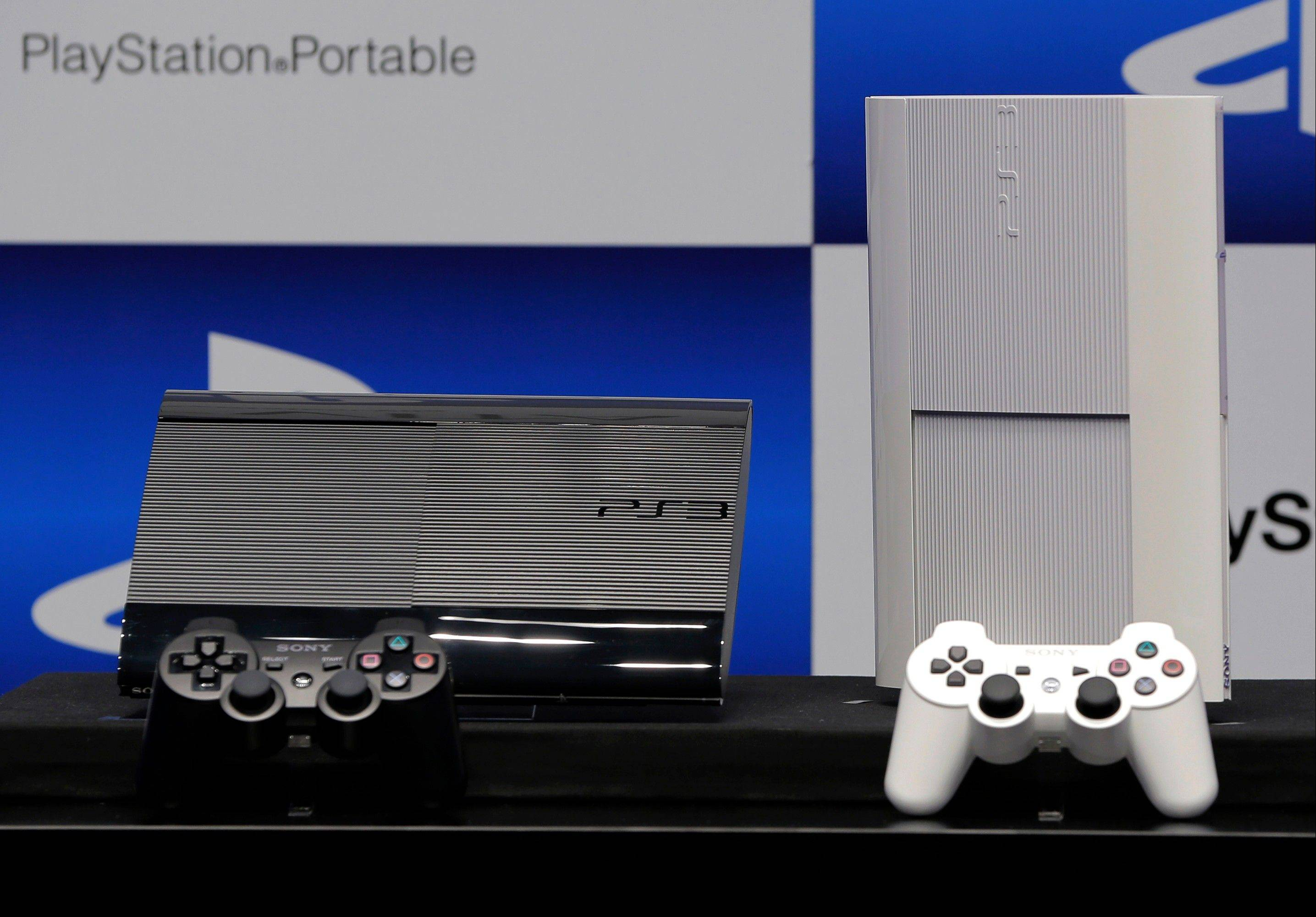 The new PlayStation 3 at the news conference in Tokyo, Wednesday.