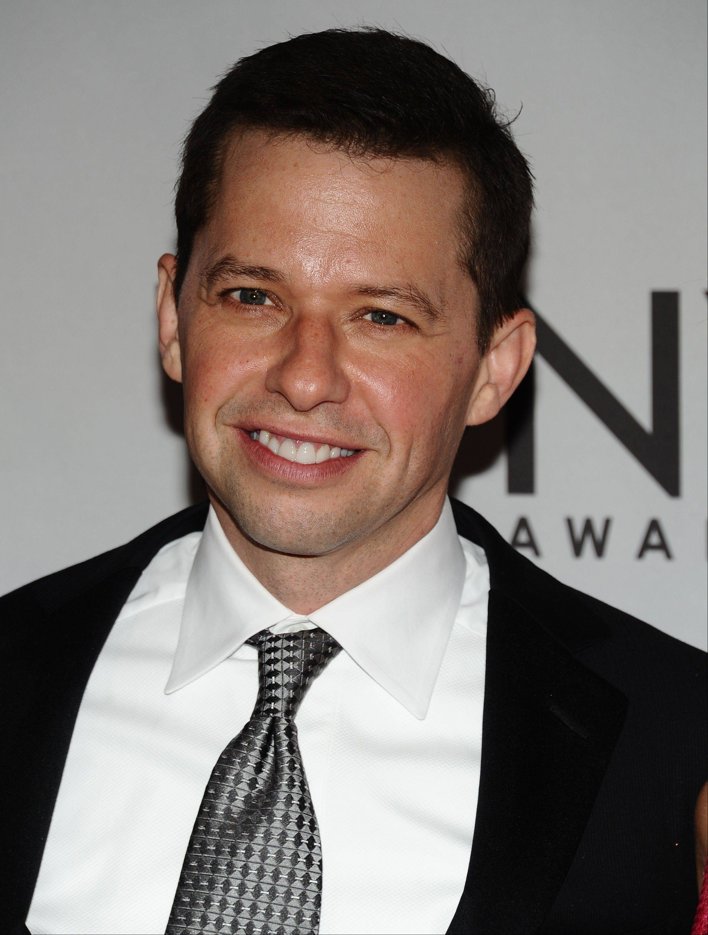 Jon Cryer injured himself Sunday during the cycling part of a triathlon in L.A. after losing control of his bicycle. He suffered scrapes and bruises but no broken bones.