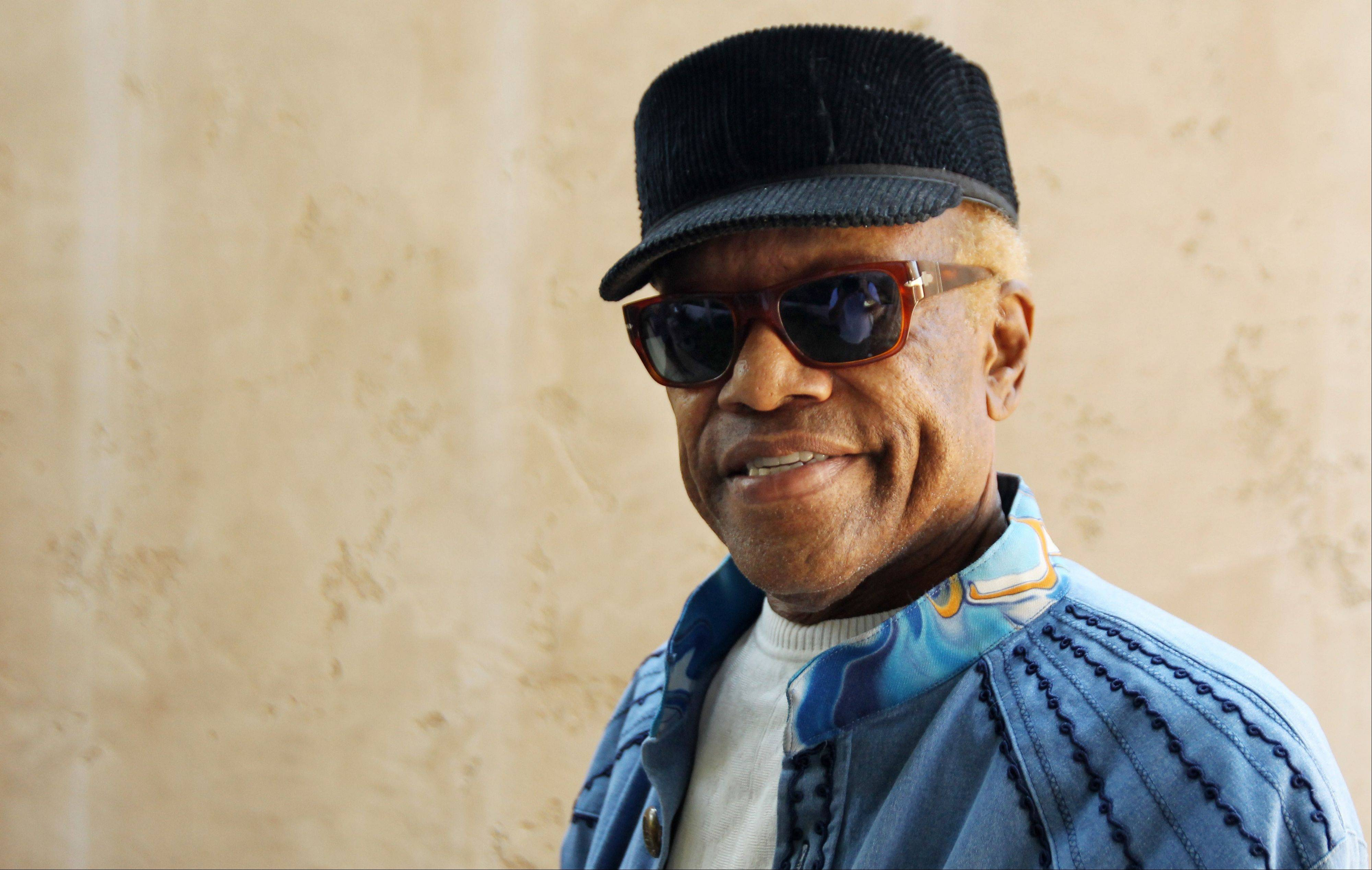 Bobby Womack will perform at the Riverfront Theater in Chicago as part of Brilliant Corners of Popular Amusements.