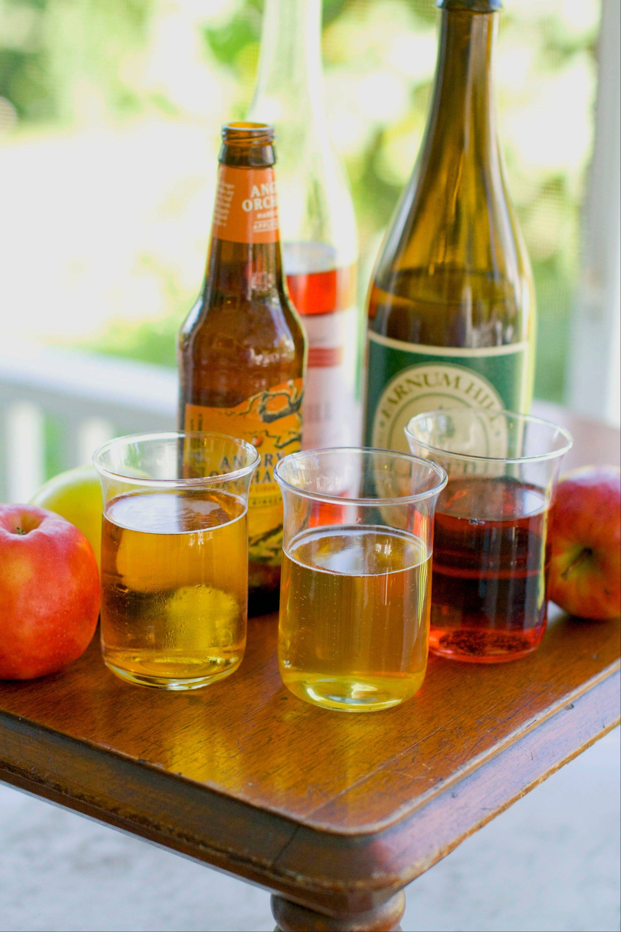 Sales of hard apple ciders have increased 50 percent from this time last year.