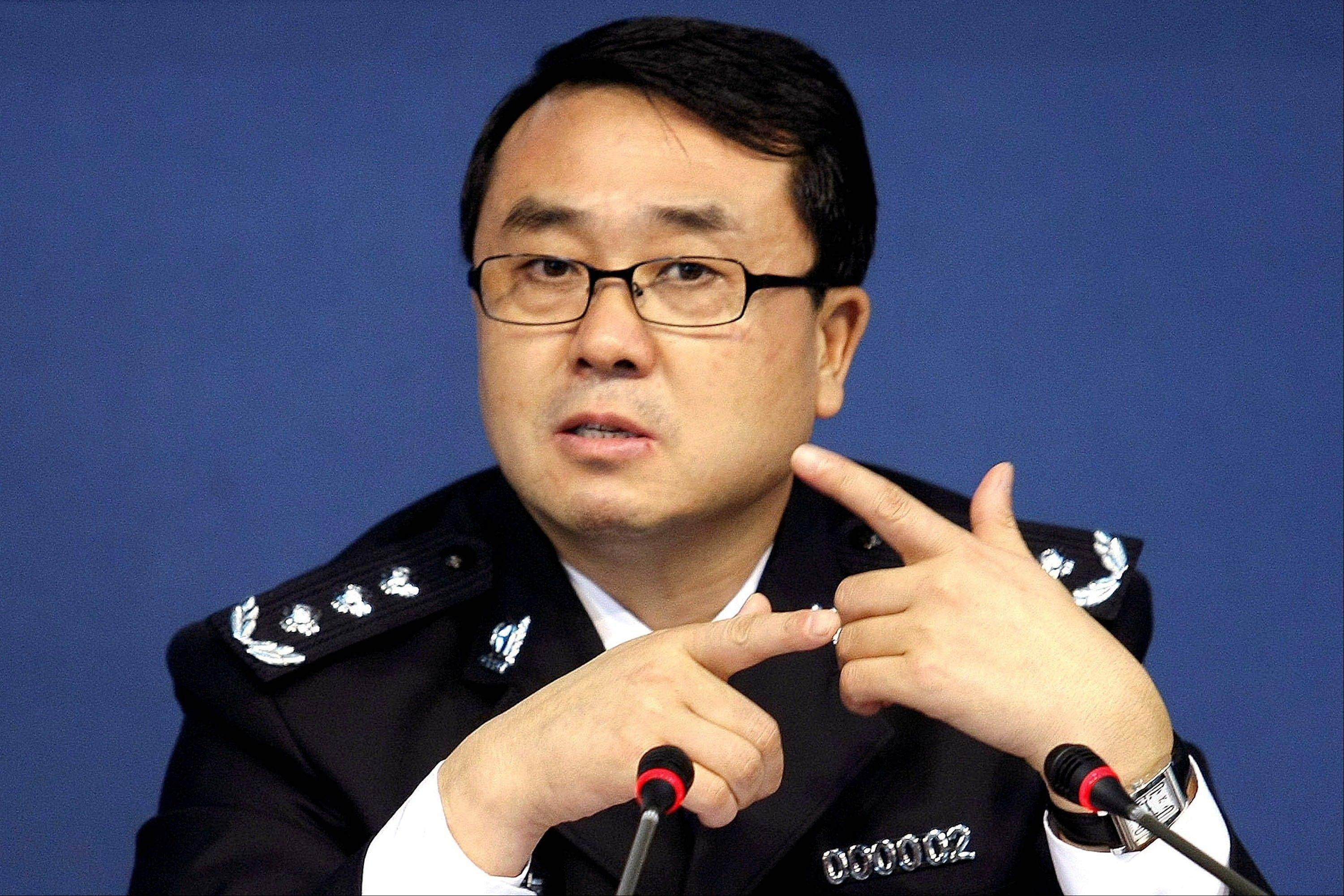 Wang Lijun, the ex-police chief at the center of China's seamy political scandal asked U.S. diplomats for asylum after he covered up a murder for the wife of the Communist Party boss but then grew estranged and feared for his life, the Chinese government said Wednesday, Sept. 19, 2012.