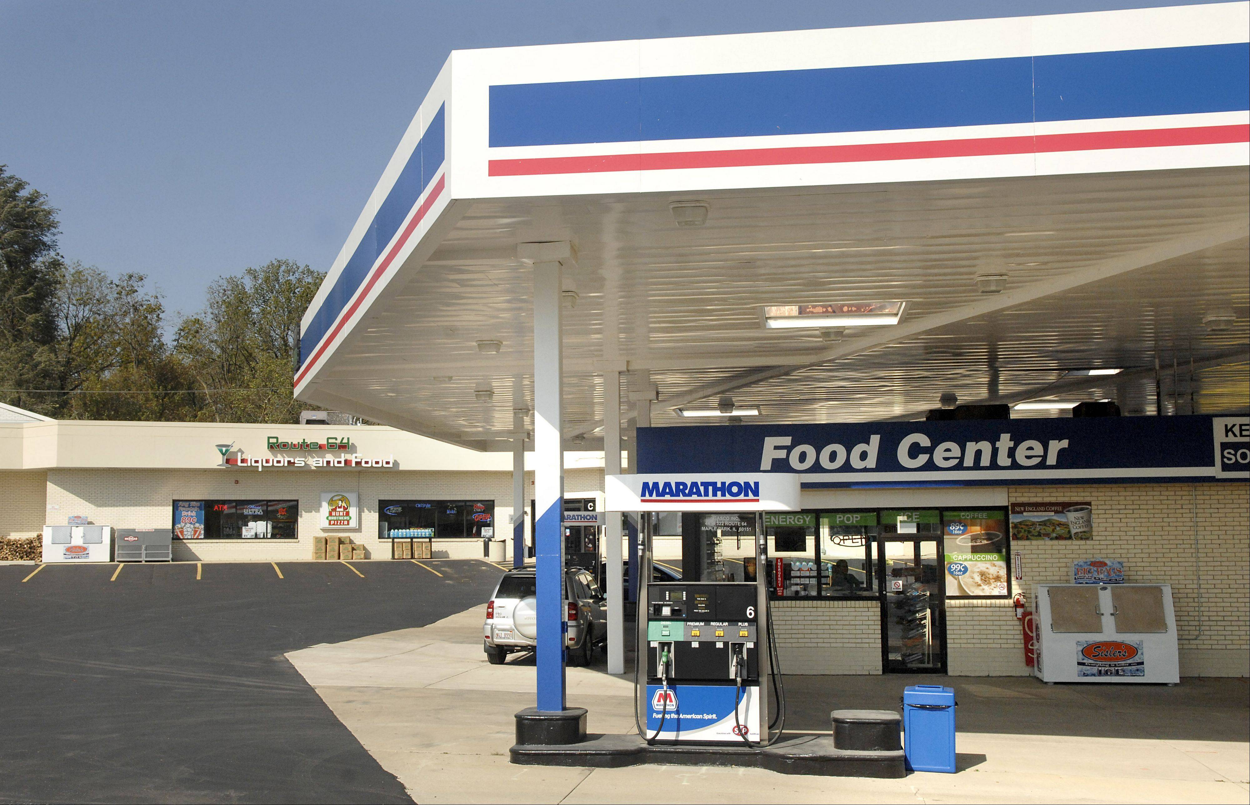 The Marathon gas station and the Route 64 Liquors & Food at the intersection of Routes 47 and 64 reopened for business this week in Lily Lake.