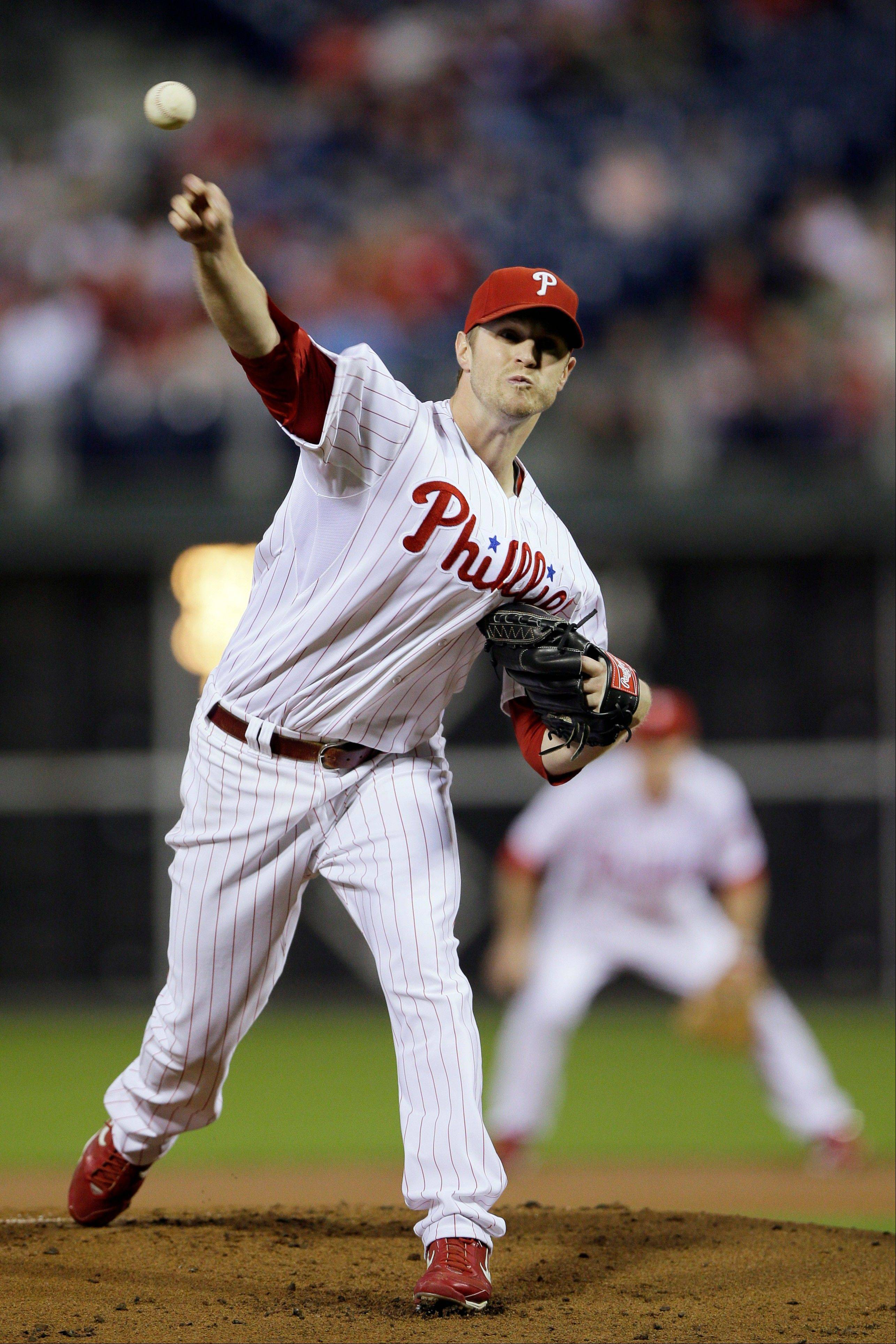 Philadelphia's Kyle Kendrick struck out six Friday in a home win over Atlanta.