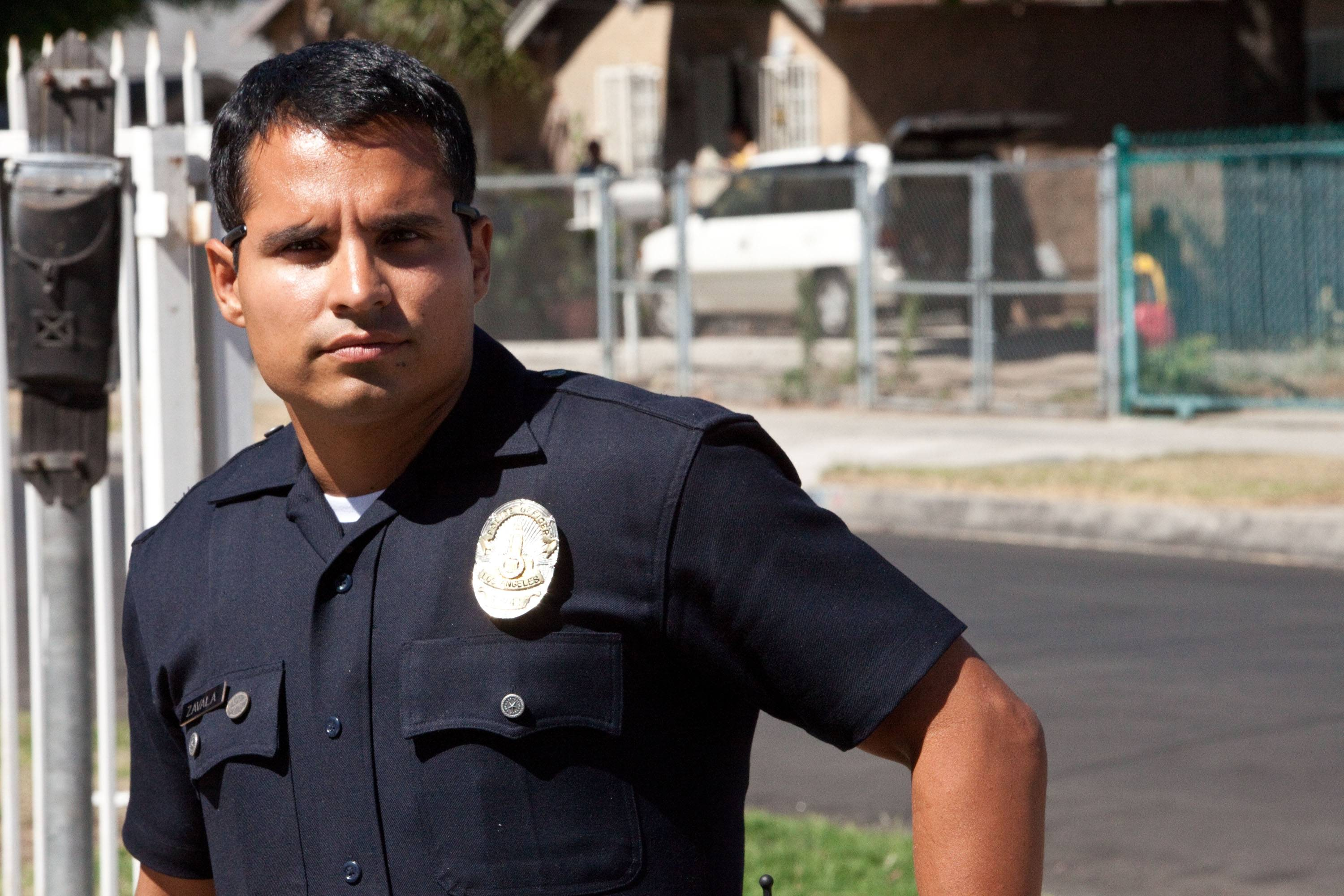 "Chicago actor Michael Pena plays an L.A. cop in David Ayer's new street drama ""End of Watch."""