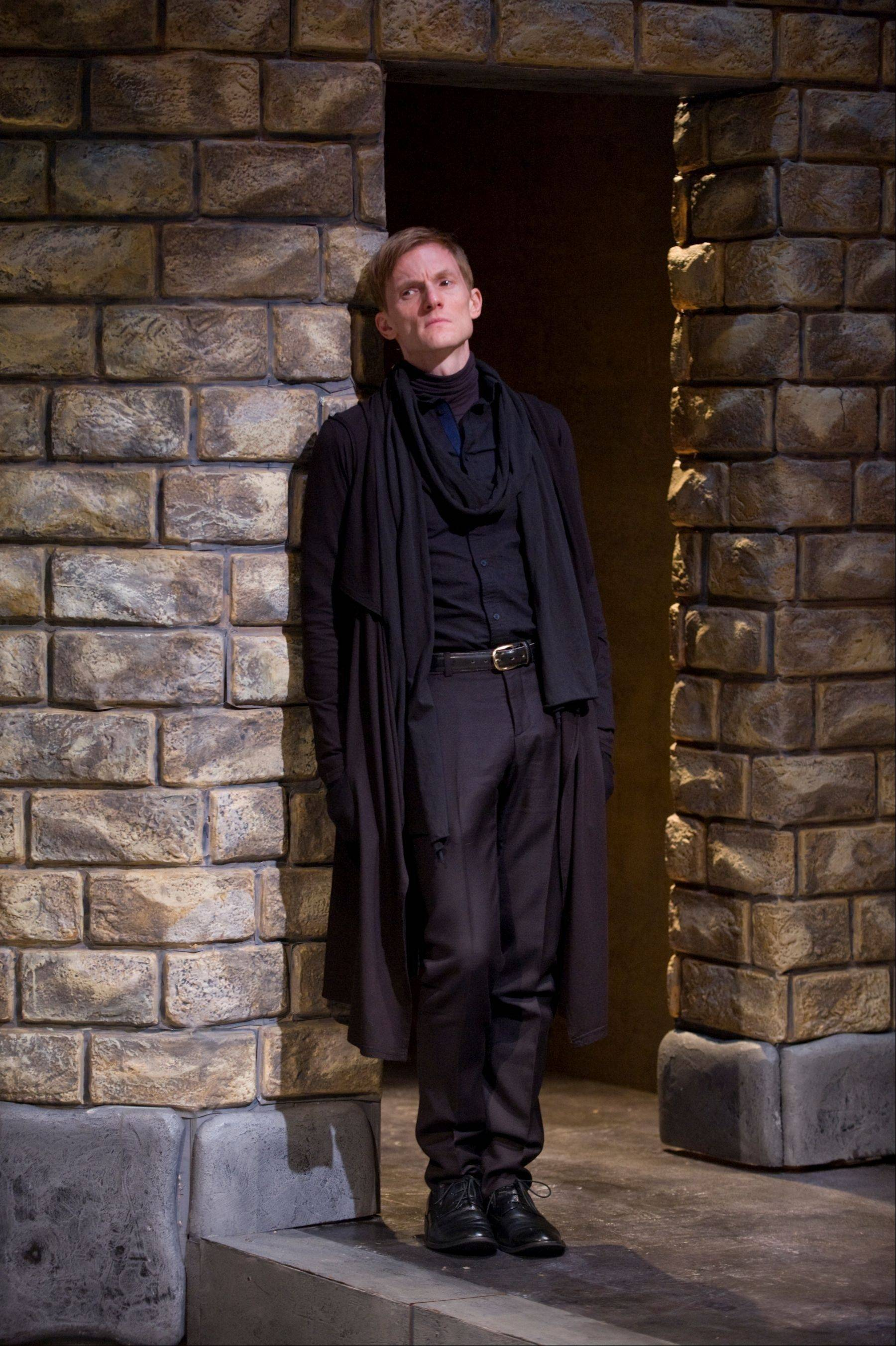 "Scott Parkinson collaborates with longtime friend director Michael Halberstam in his production of ""Hamlet,"" running through Nov. 11 at Writers' Theatre in Glencoe."