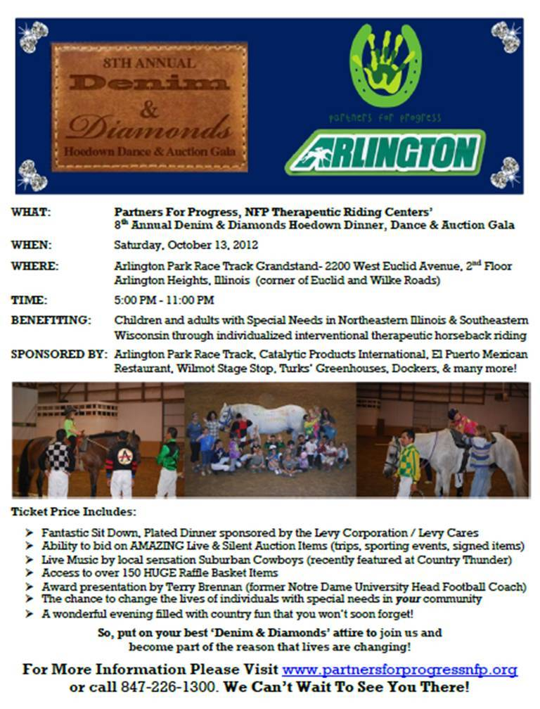 8th Annual Hoe Down Dinner Dance and Auction Gala Flyer