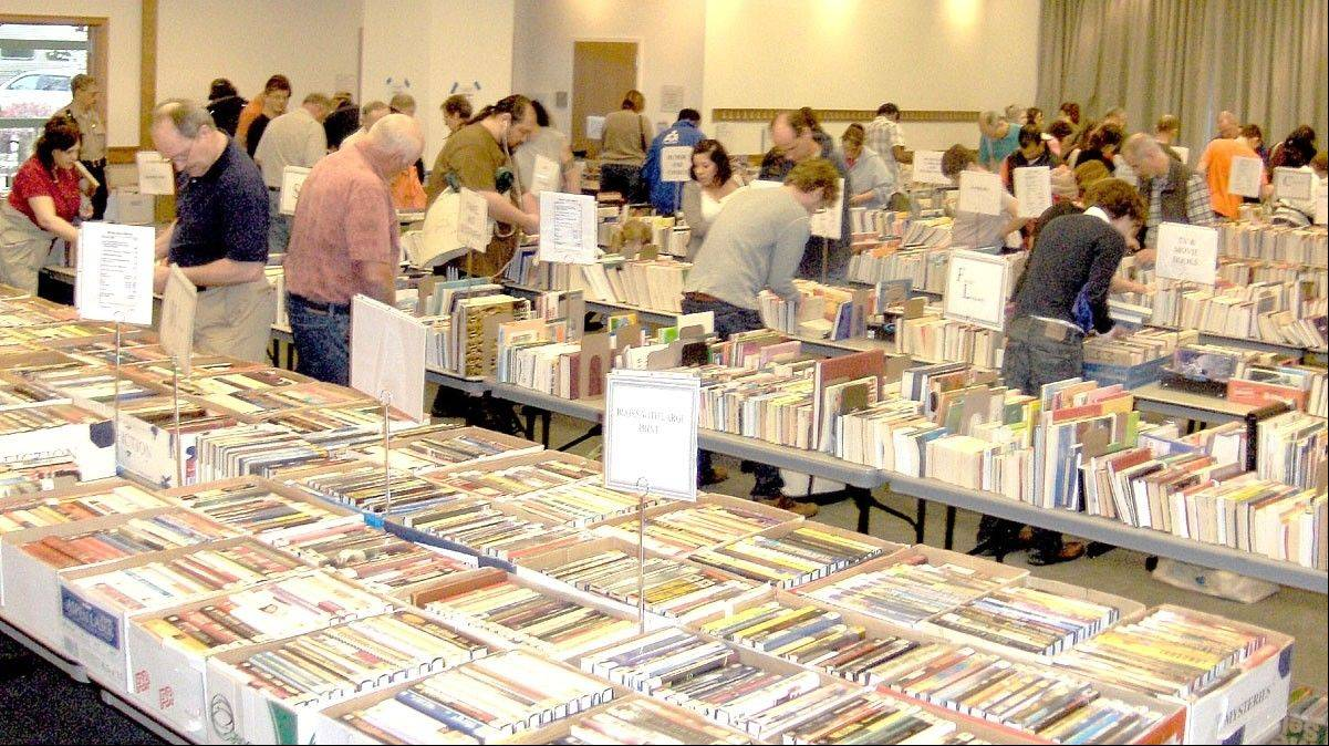 A variety of fiction and nonfiction books for adults and children, plus videotapes, audiobooks, DVDs and CDs will be for sale when the Friends of the Des Plaines Public Library host its book sale Sept. 28-30.