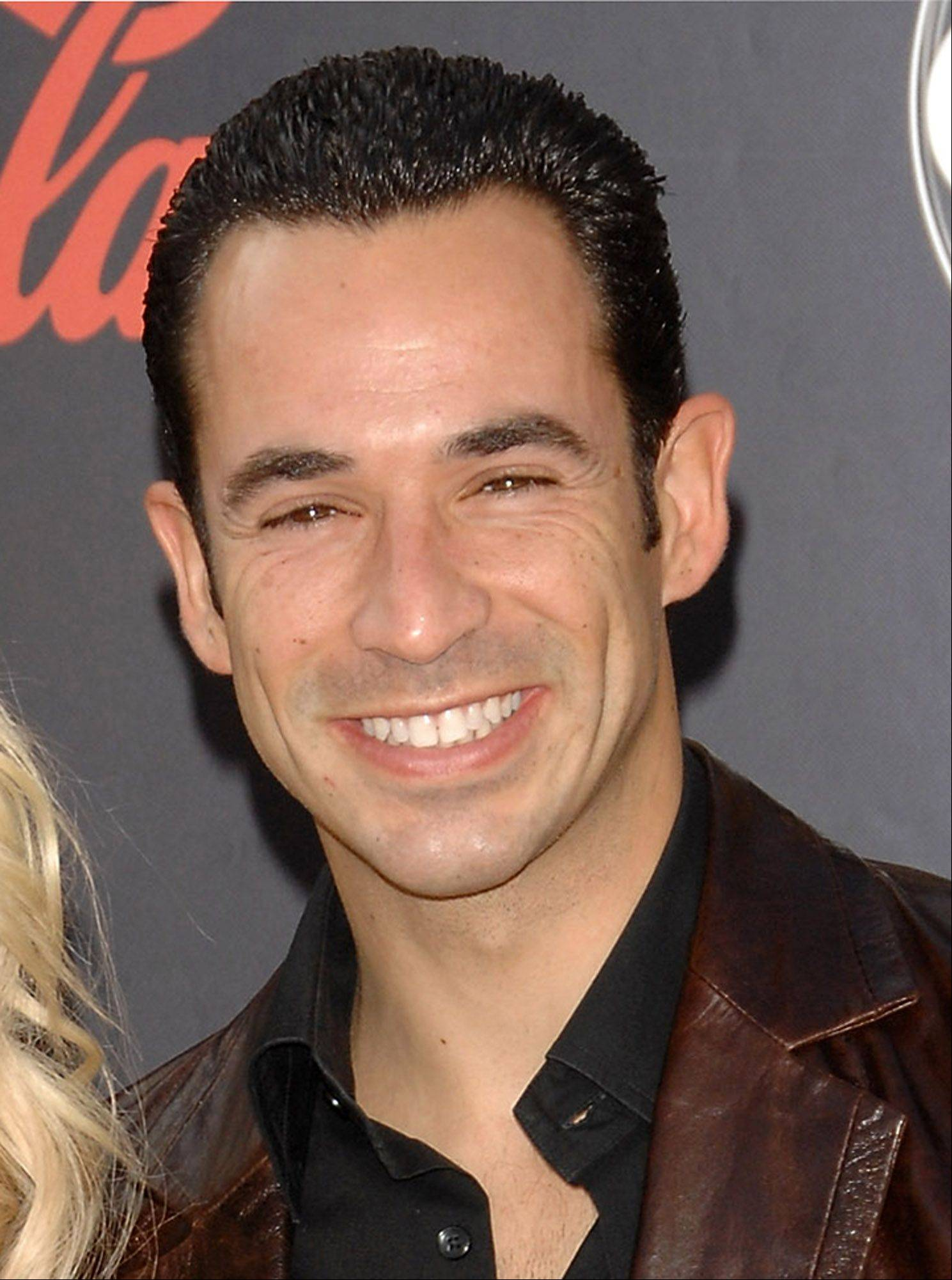 "IndyCar driver and ""Dancing with the Stars"" contestant Helio Castroneves"