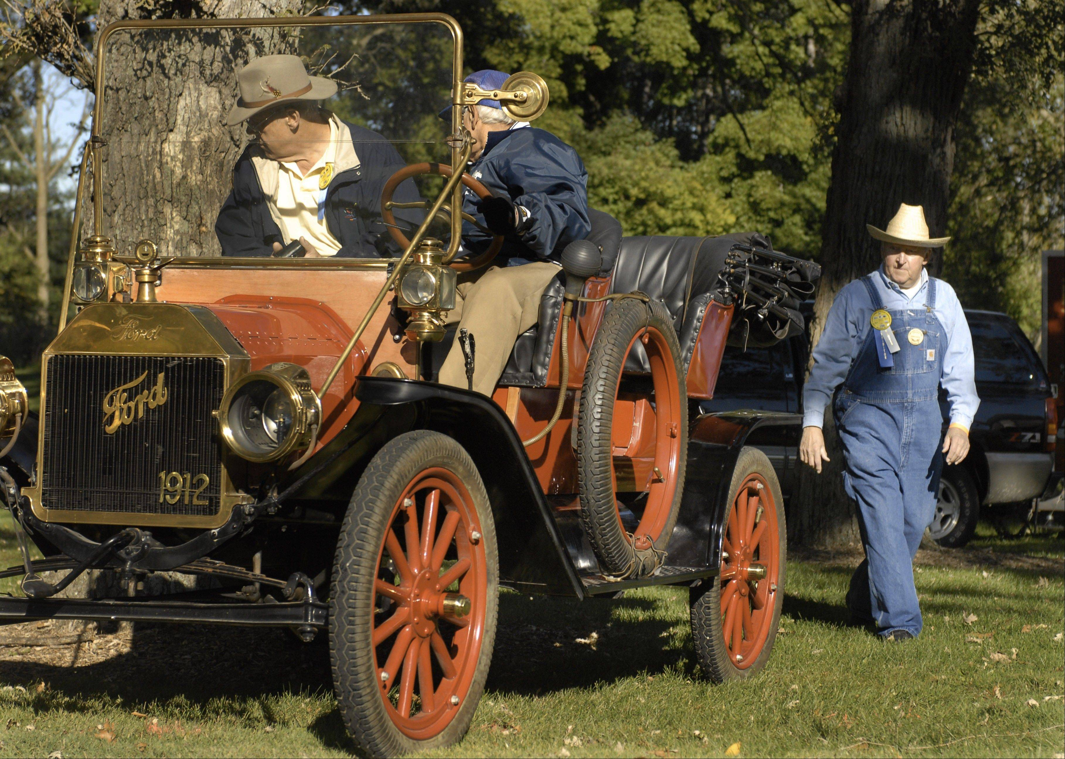 A tractor parade is part of the fun at the annual Farm Heritage Festival at the Lakewood Forest Preserve in Wauconda.
