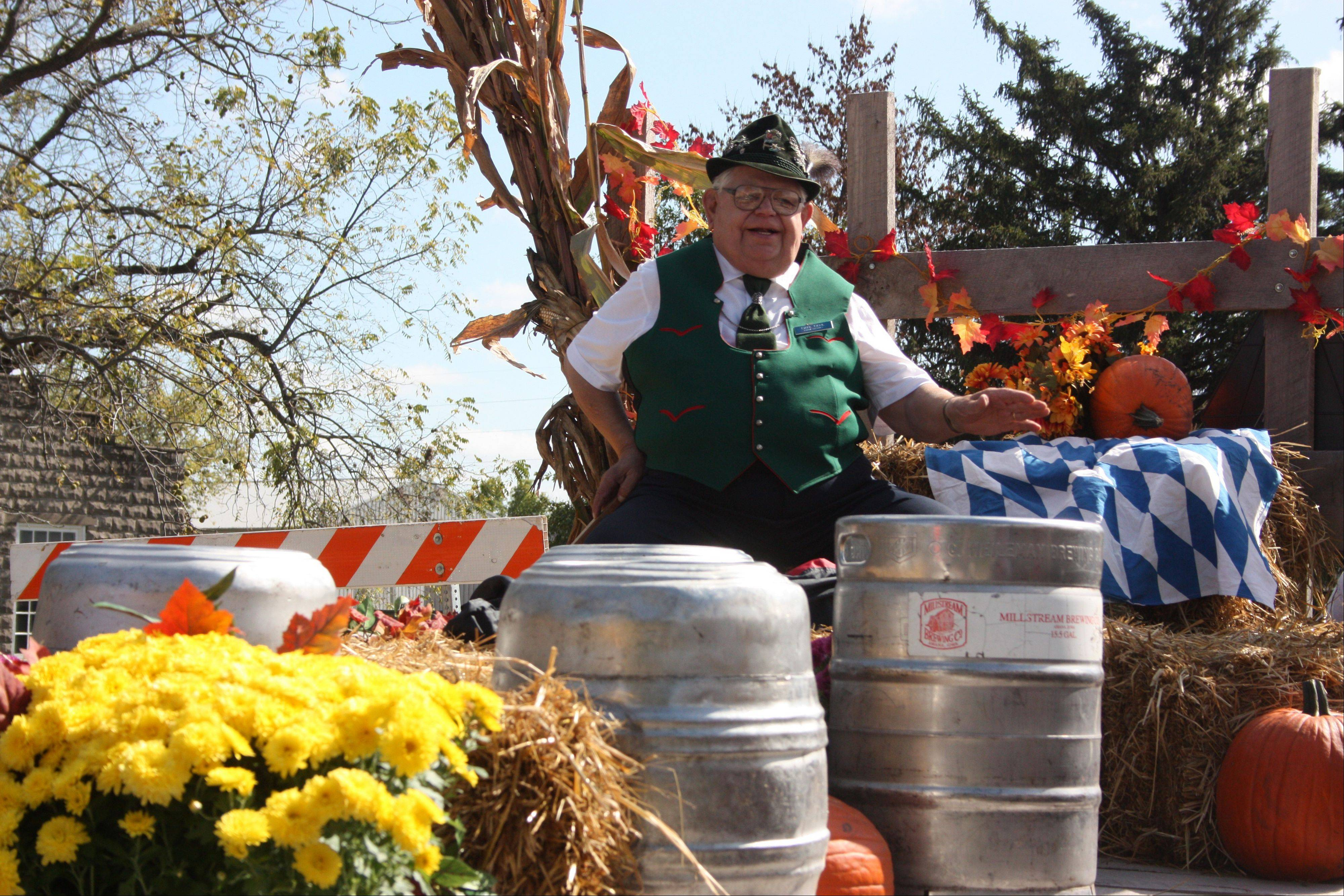 Meet the Burgermeister during Oktoberfest at the Amana Colonies village in Amana, Iowa.