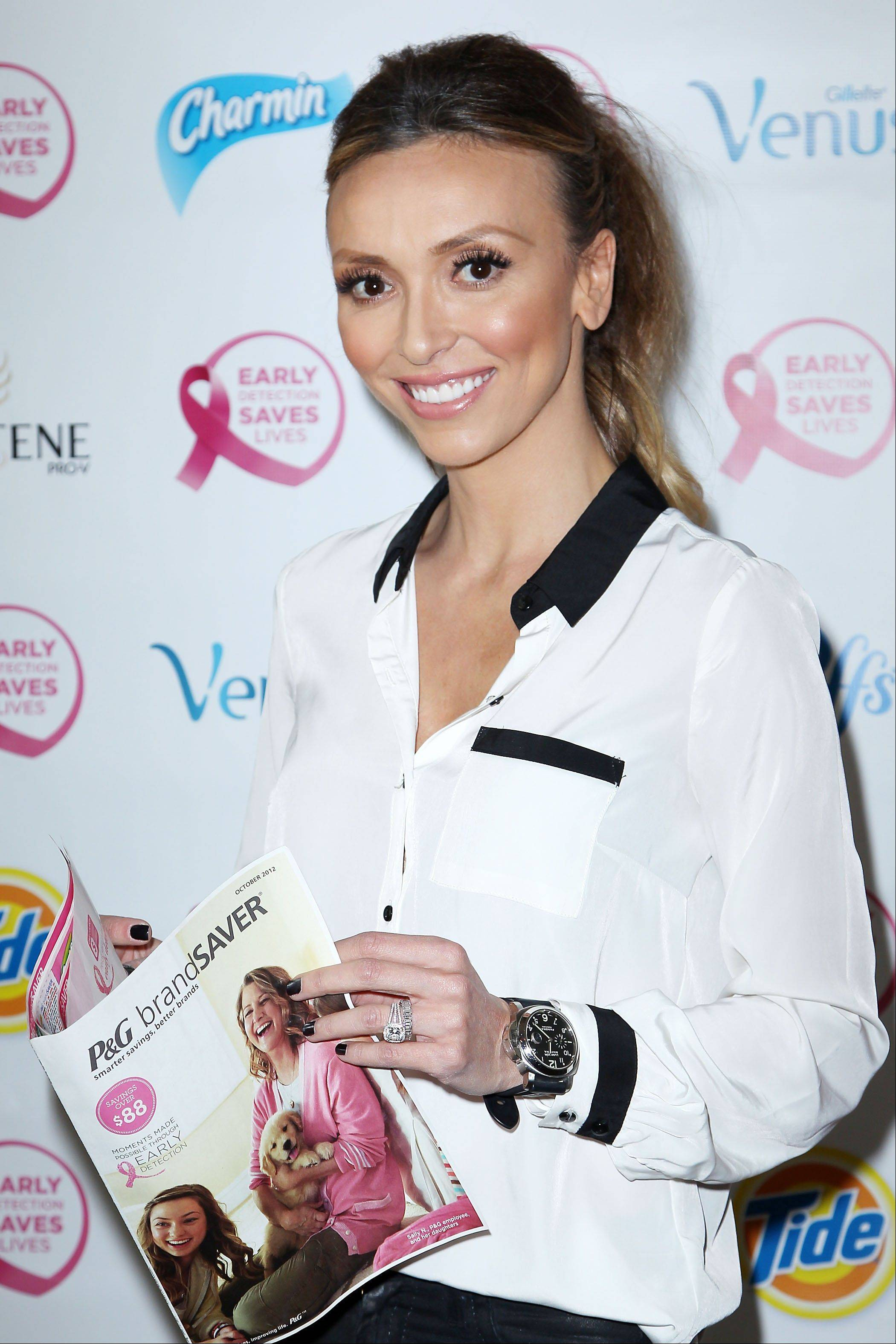 "Giuliana Rancic attends the ""Do It For the Girls!"" event on Thursday in New York. Last October, Rancic announced that she had breast cancer and later underwent a double mastectomy."