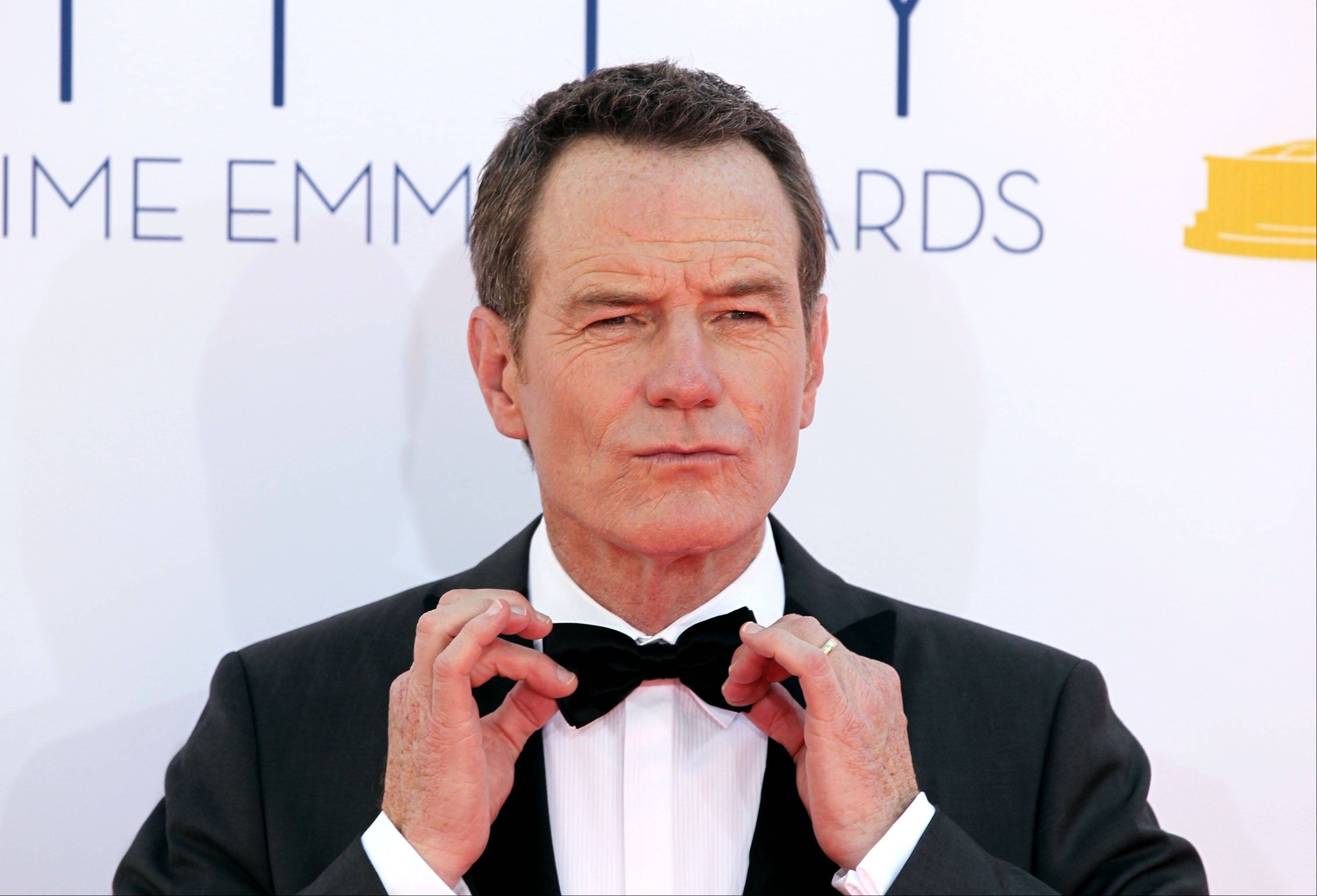 """Breaking Bad"" star Bryan Cranston isn't taking Emmy night too seriously. His show could have an impressive Emmy haul."
