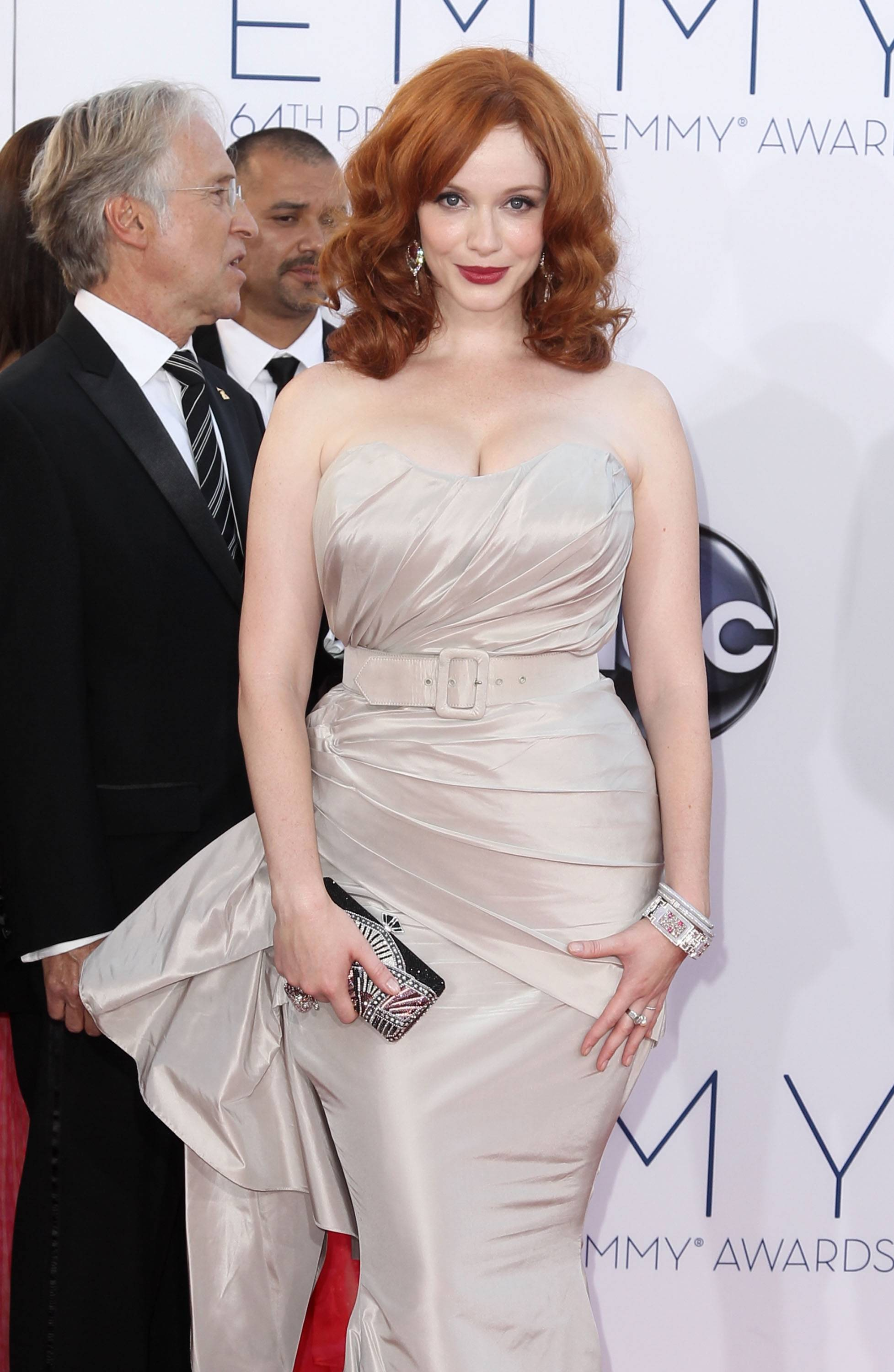 """Mad Men"" actress Christina Hendricks is the picture of old Hollywood glamour."