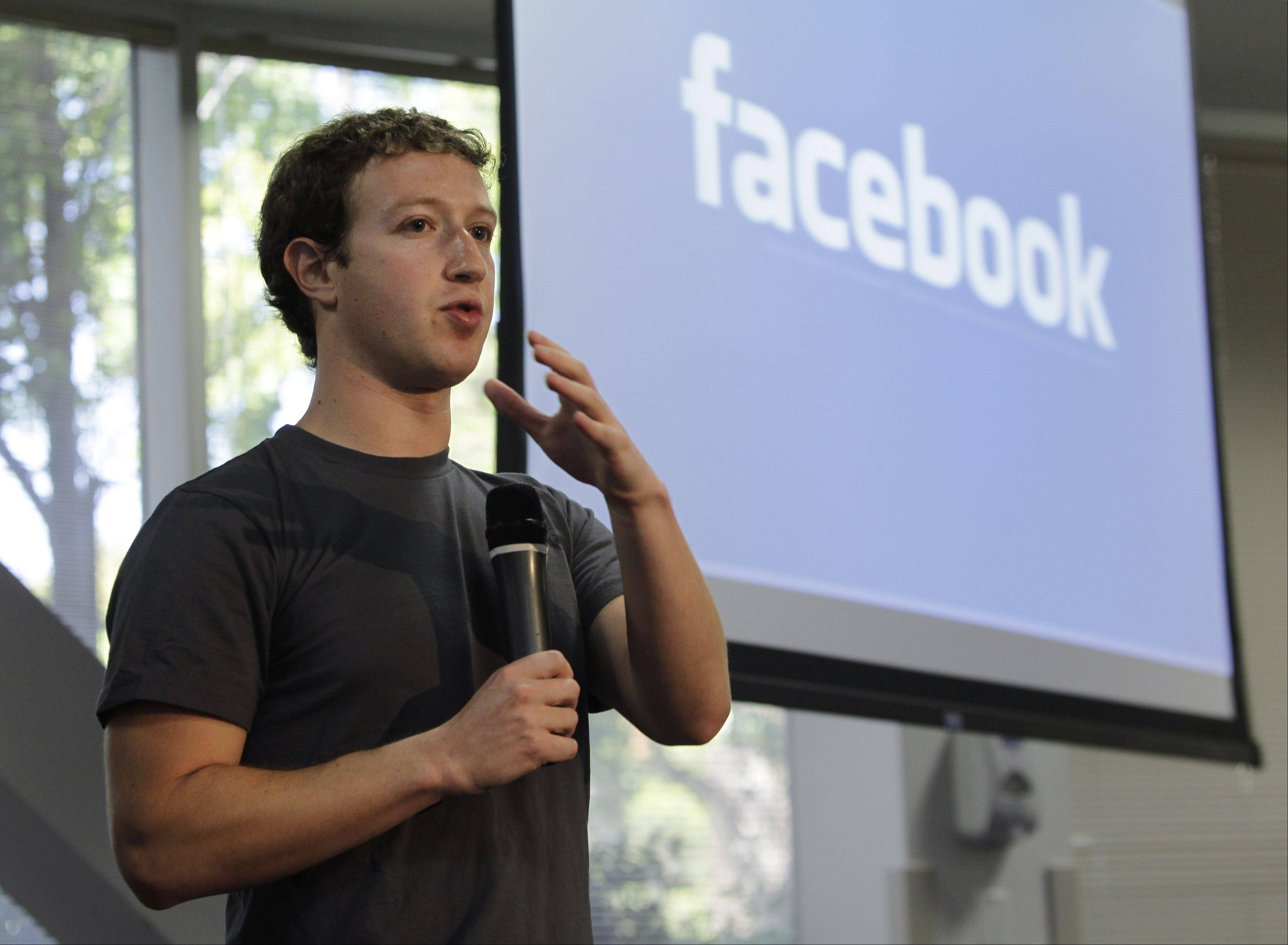 "Financial magazine Barron's said Facebook is ""still too pricey"" despite a sharp decline since its initial public offering. Above, Facebook CEO Mark Zuckerberg."