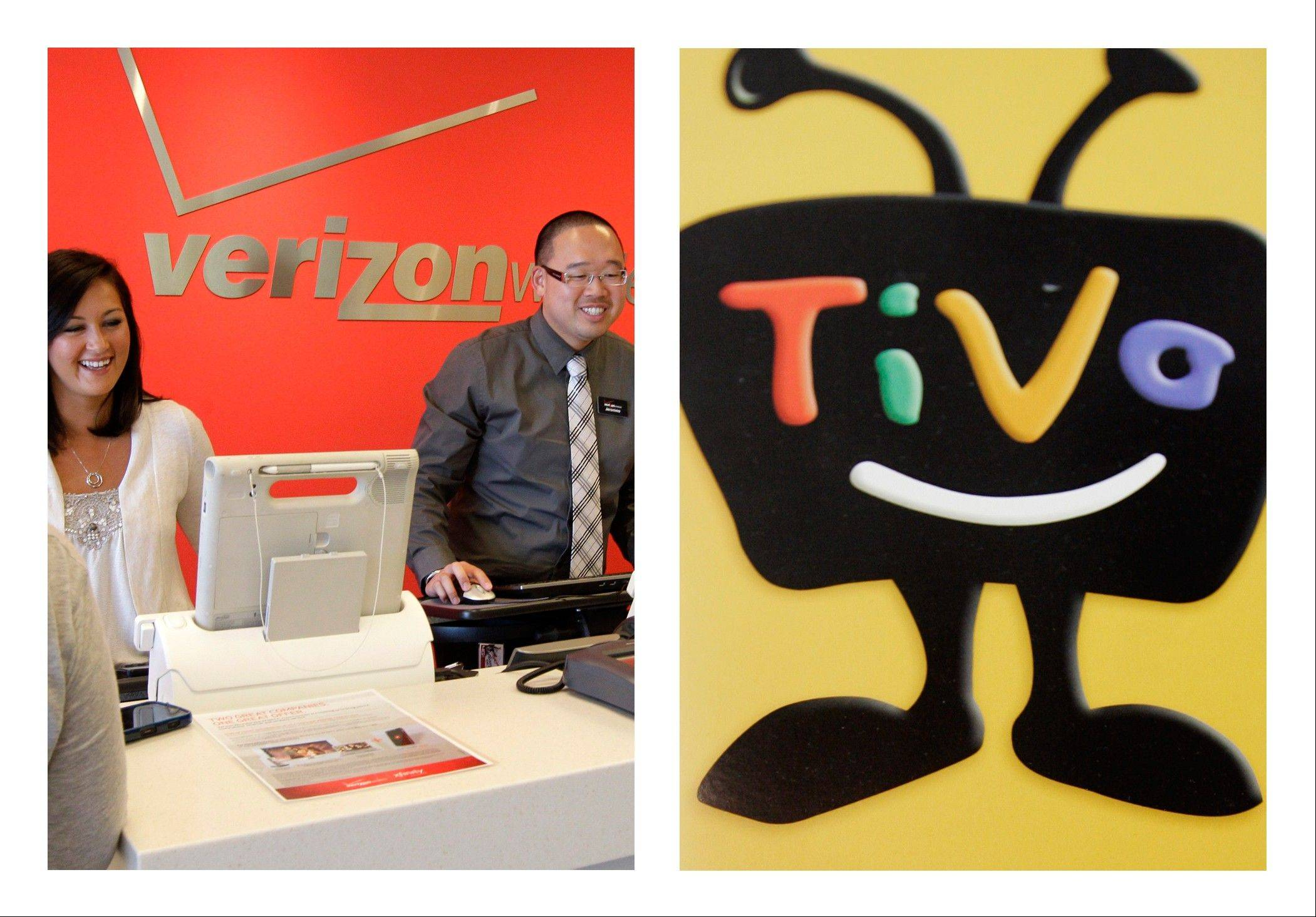 Verizon will pay Tivo at least $250.4 million to license its digital video recording technology and settle a patent lawsuit on Monday. It is the third settlement Tivo has gotten in major patent cases.